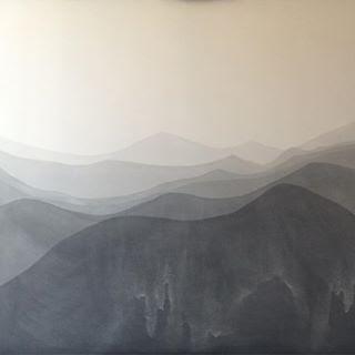 s/t  Tinta sobre lona 1.30 x 1.40m 2017
