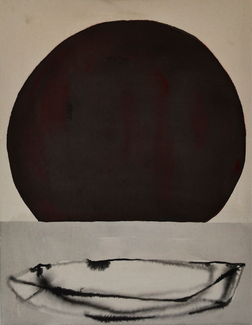 Eclipse  Técnica mixta sobre tela 70cm x 55cm 2016
