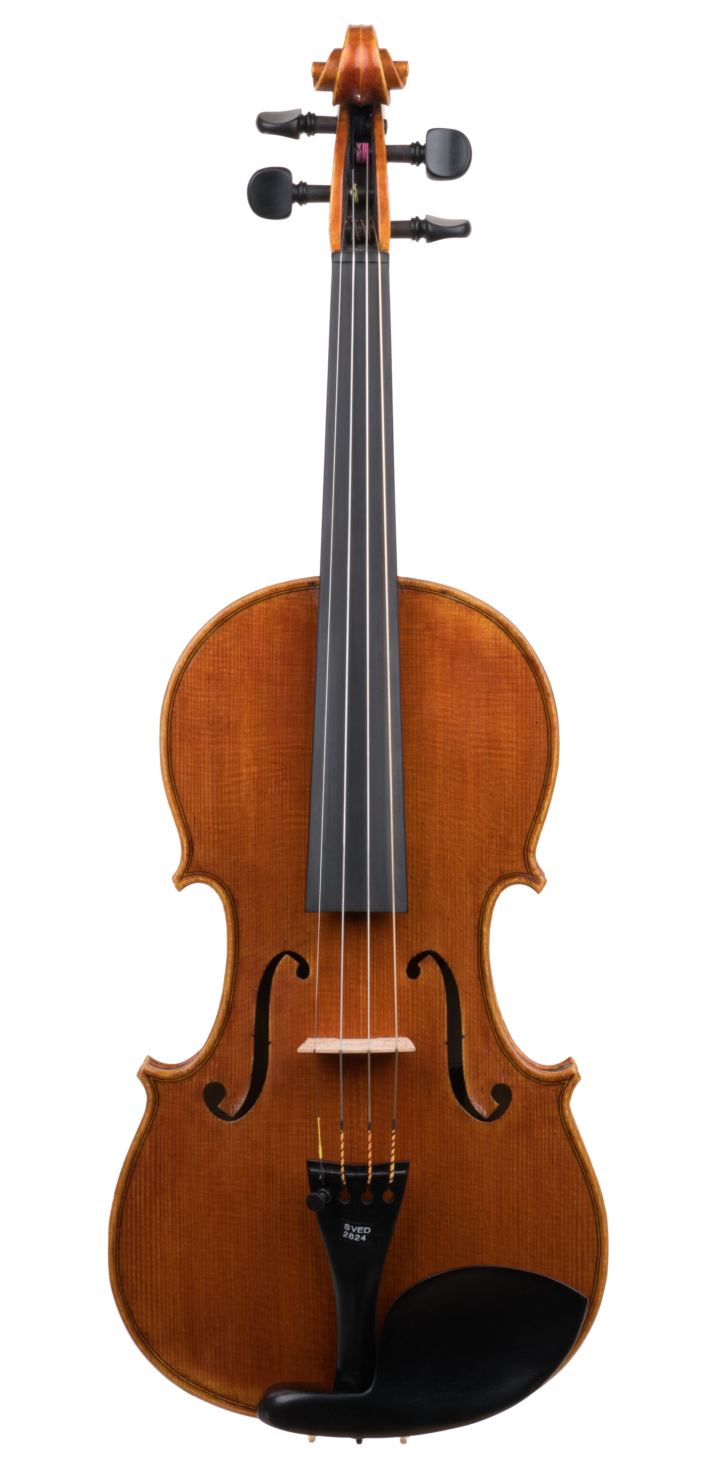 Drew Harding violin, Chicago, 2016 - Left-handed set-up