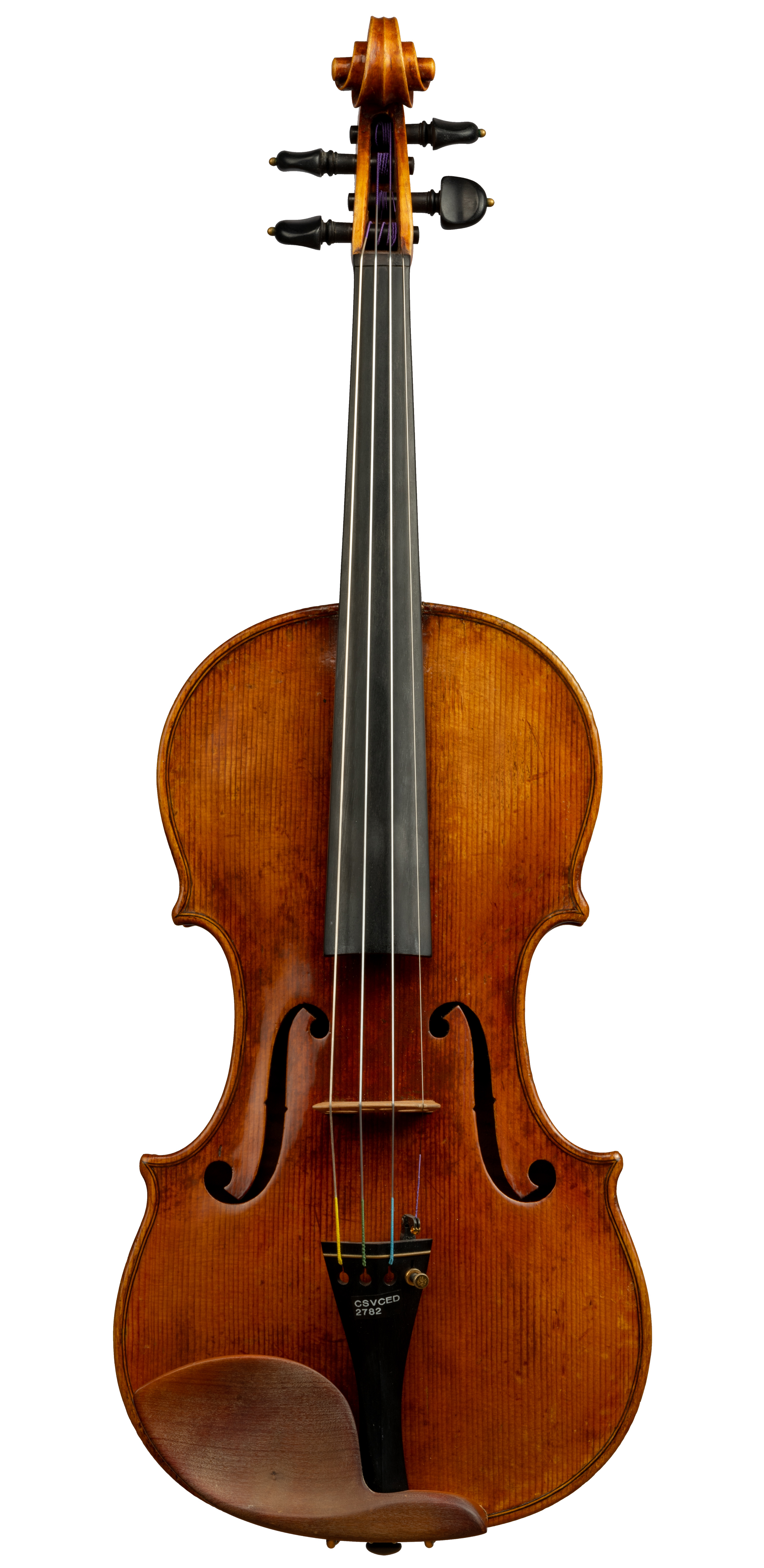 Unlabeled Czech Violin with illegible brand, 19th Century -