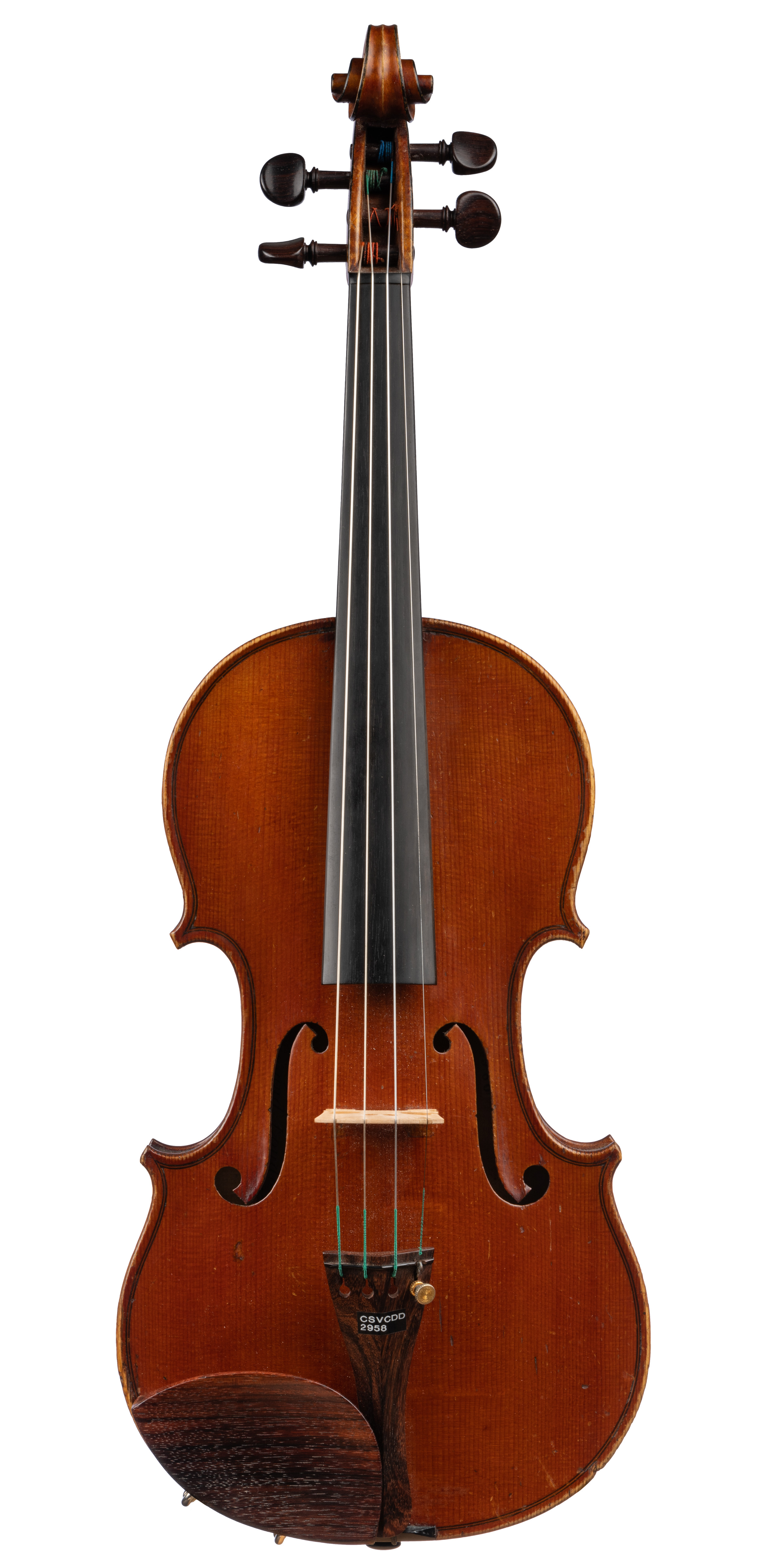 French Violin labeled Lafleur, ca 1890 -