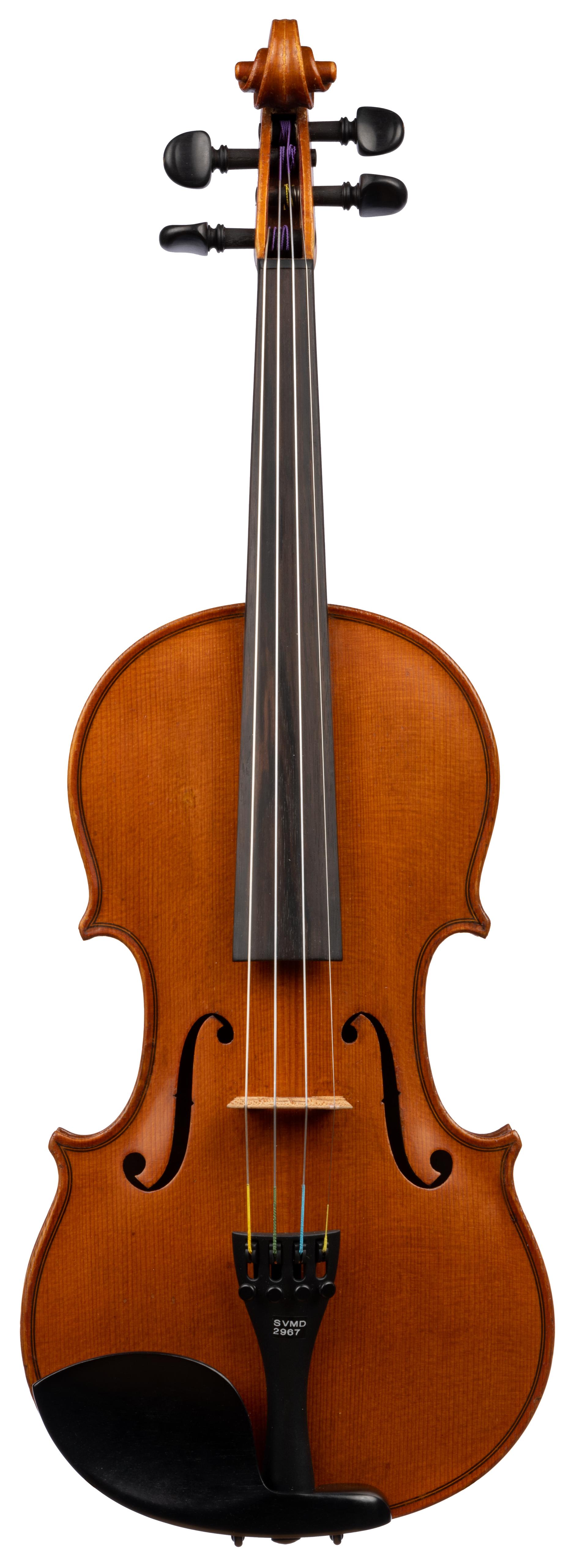 Czech vn labeled Antonius Stradivarius 2967 front.jpg