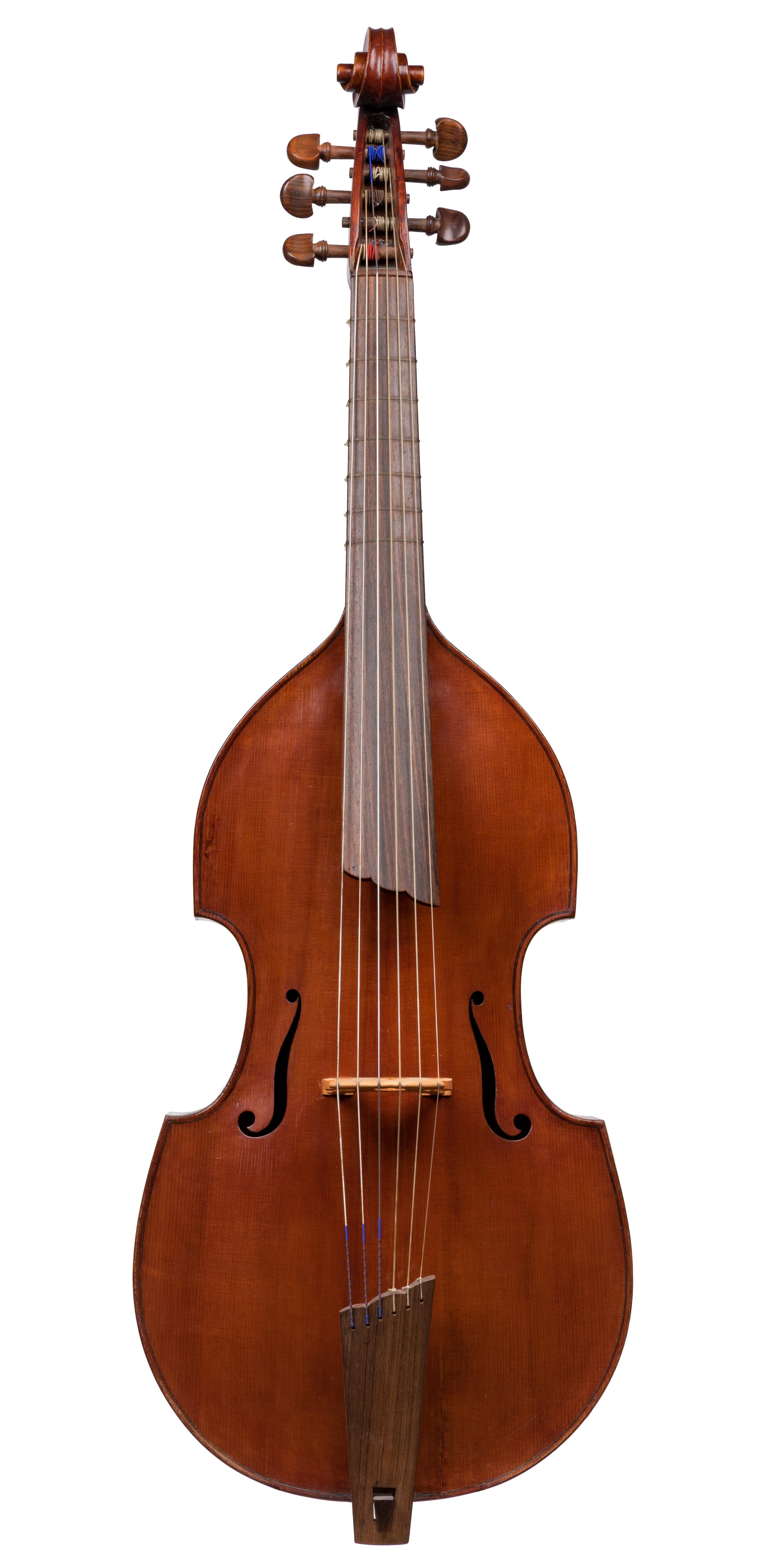 German Bass Viola da Gamba, ca 1950 -