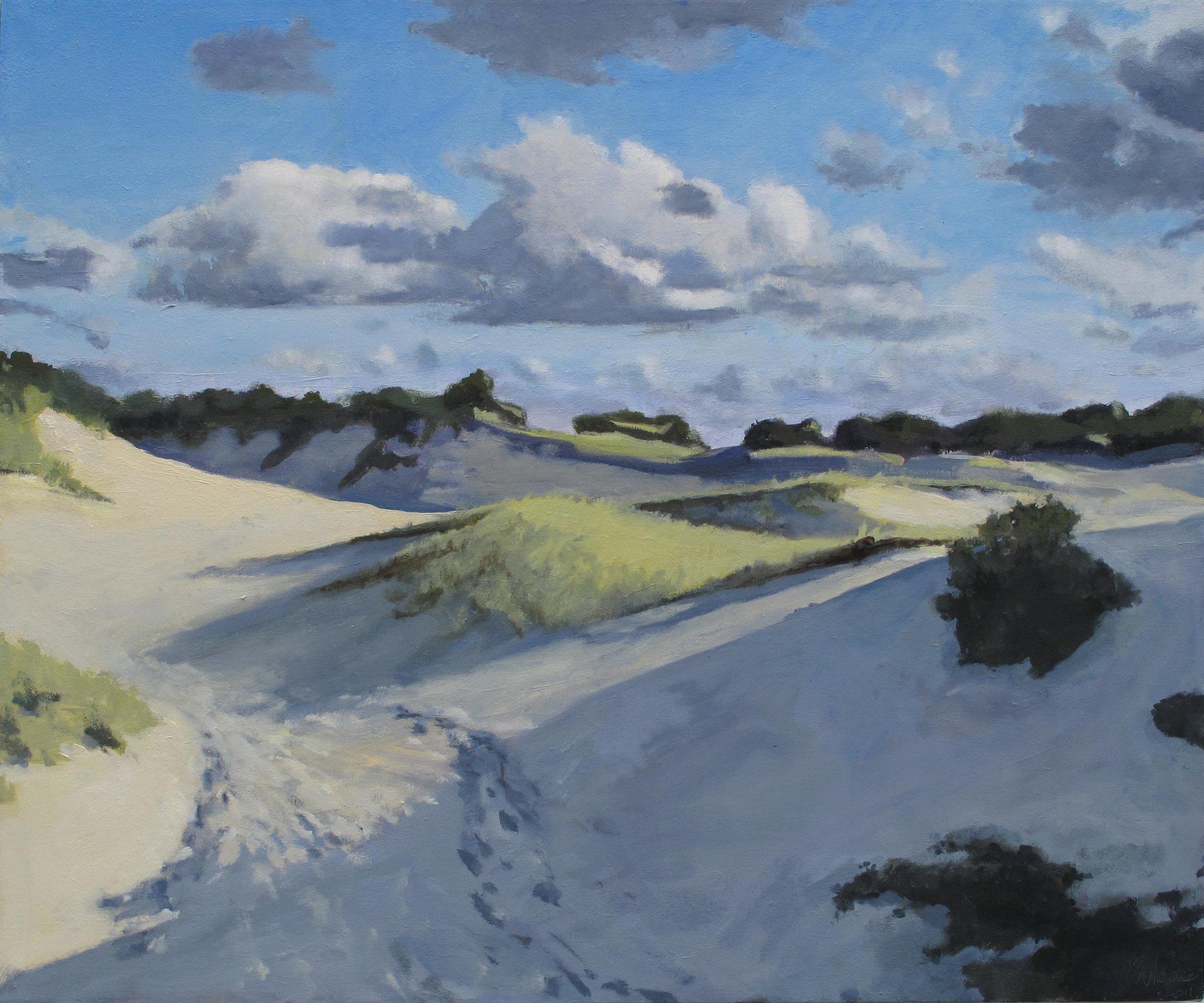 "Dunes, Oil on Linen, 30x40"""