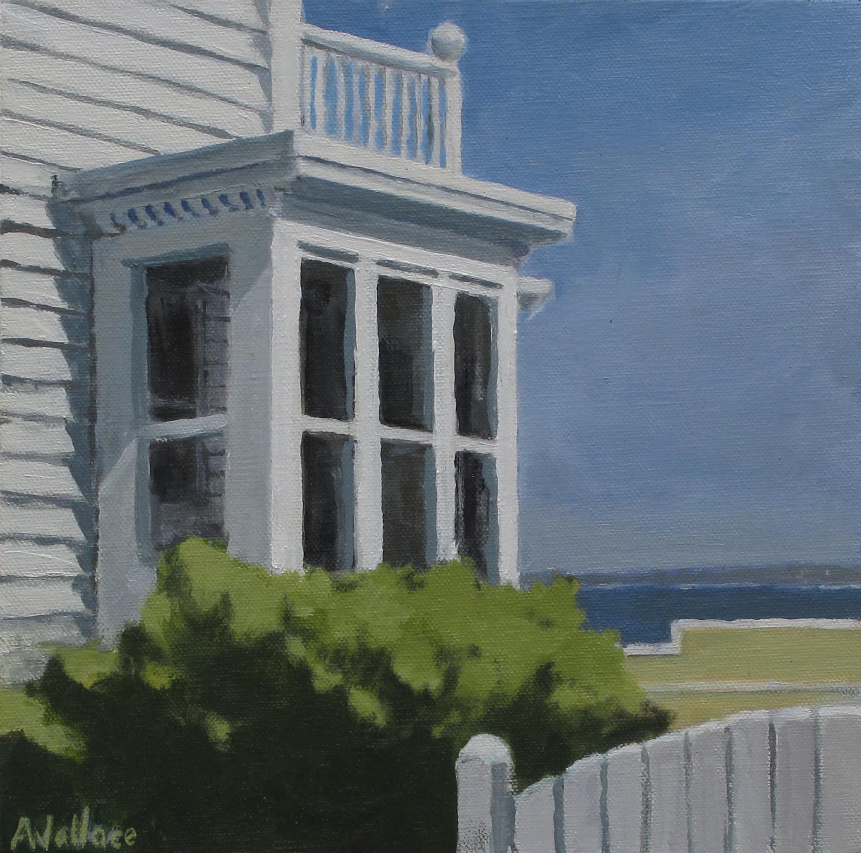 """Carver Street, Oil on Canvas, 12x12"""""""