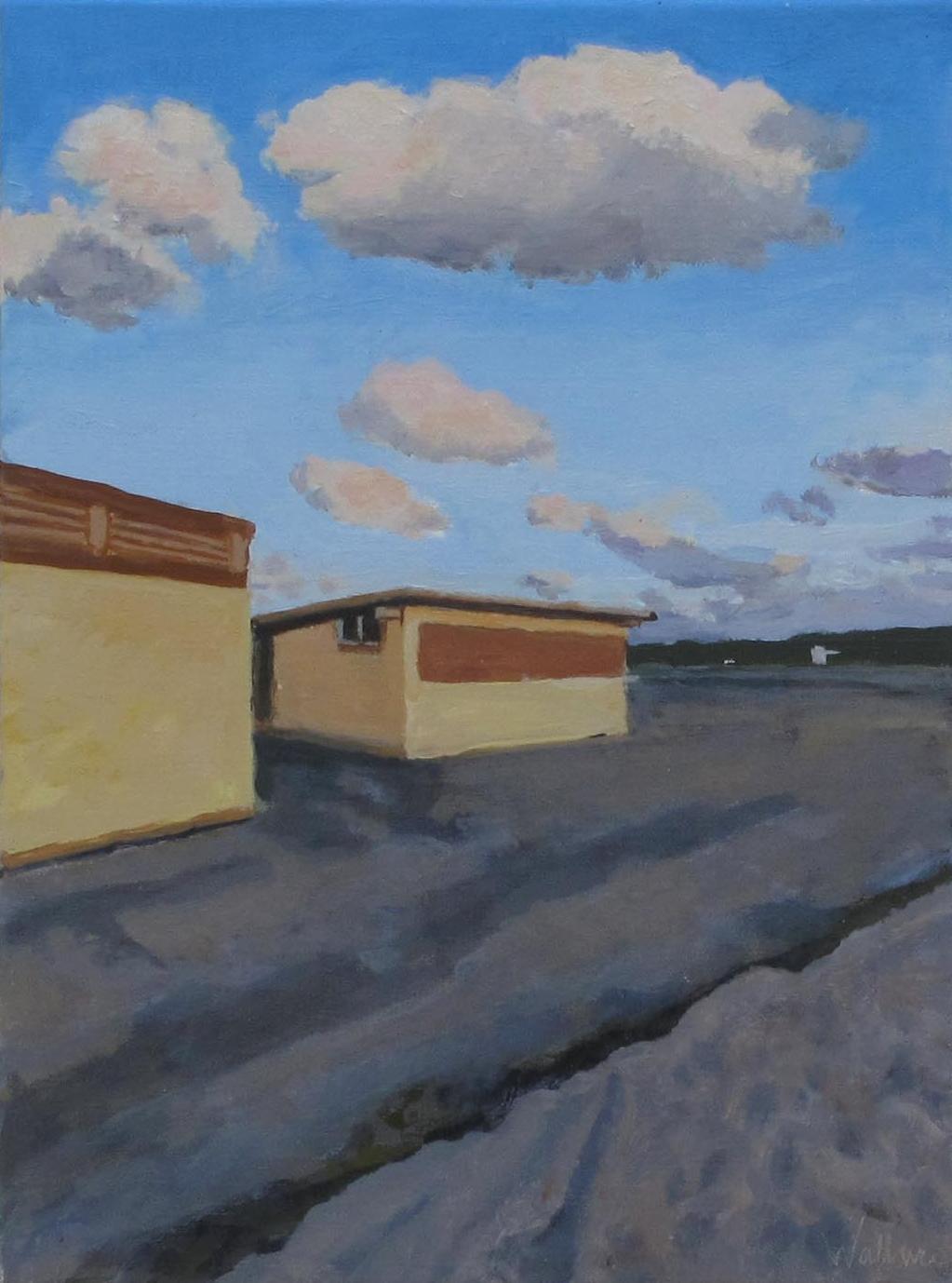 "Herring Cove '09, Oil on Canvas, 8x10"""