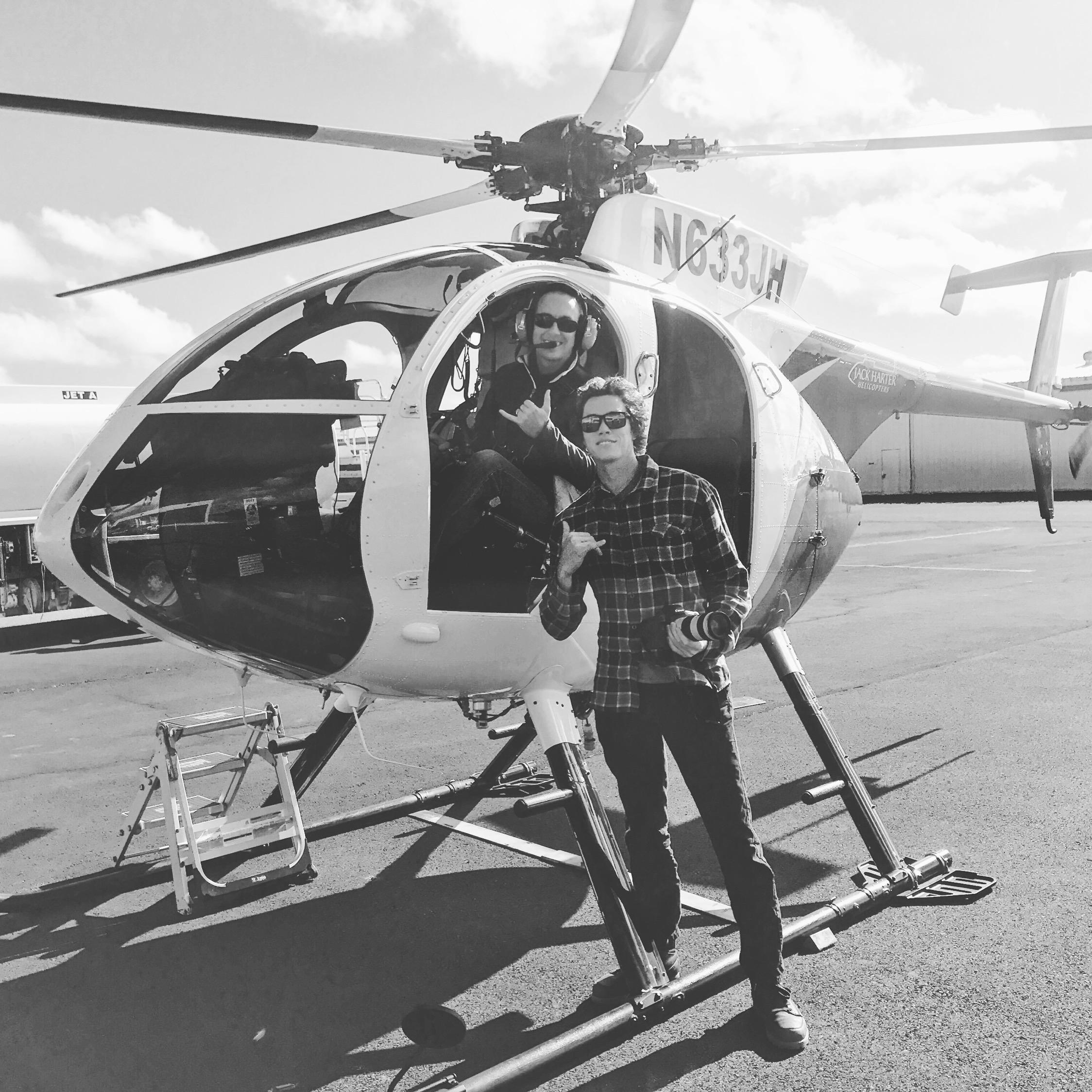 Me and my pilot pal