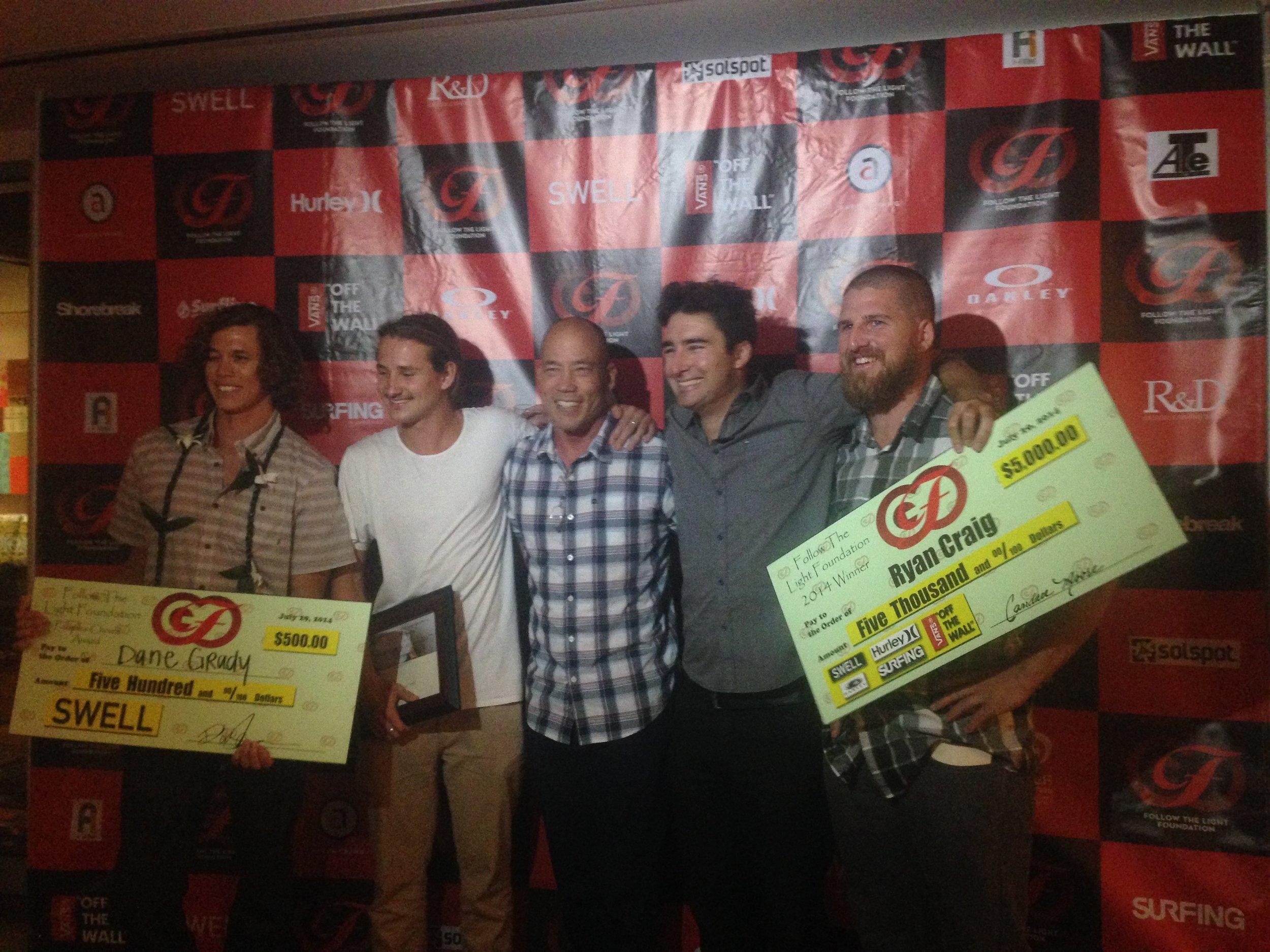Follow The Light awards 2014