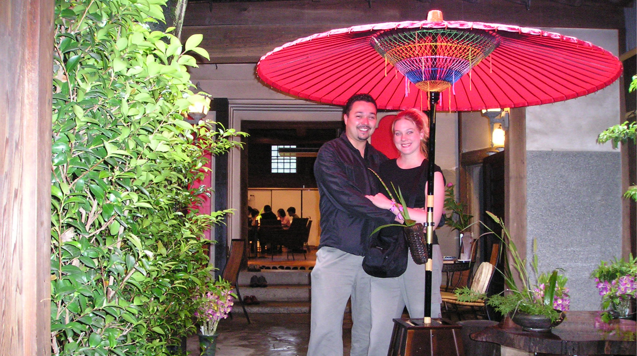 Jona and Marc Moorghen, Japan 2003