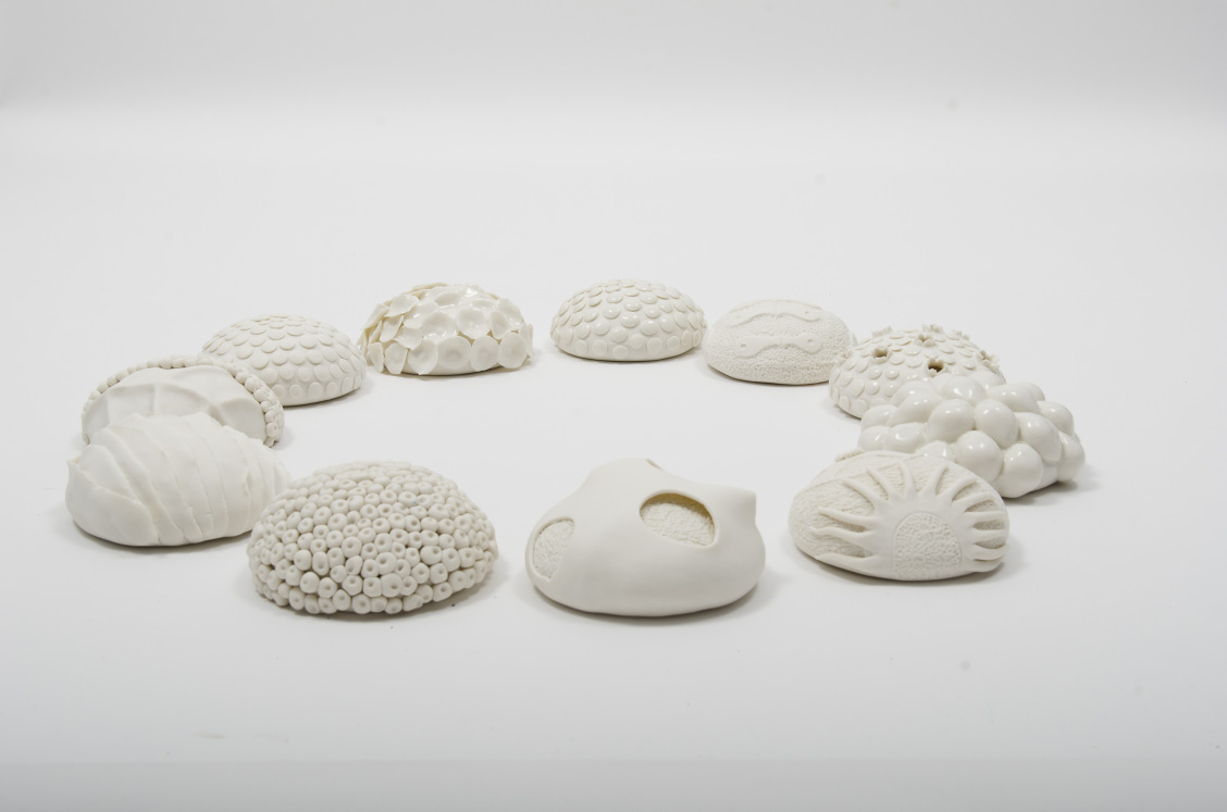 Laura McNamara, Auctus, Porcelain and clear glaze