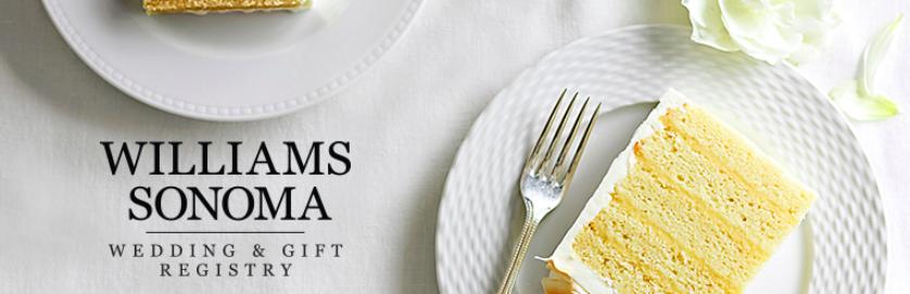 Williams Sonoma Wedding Registry.Registry Lakie Kevin