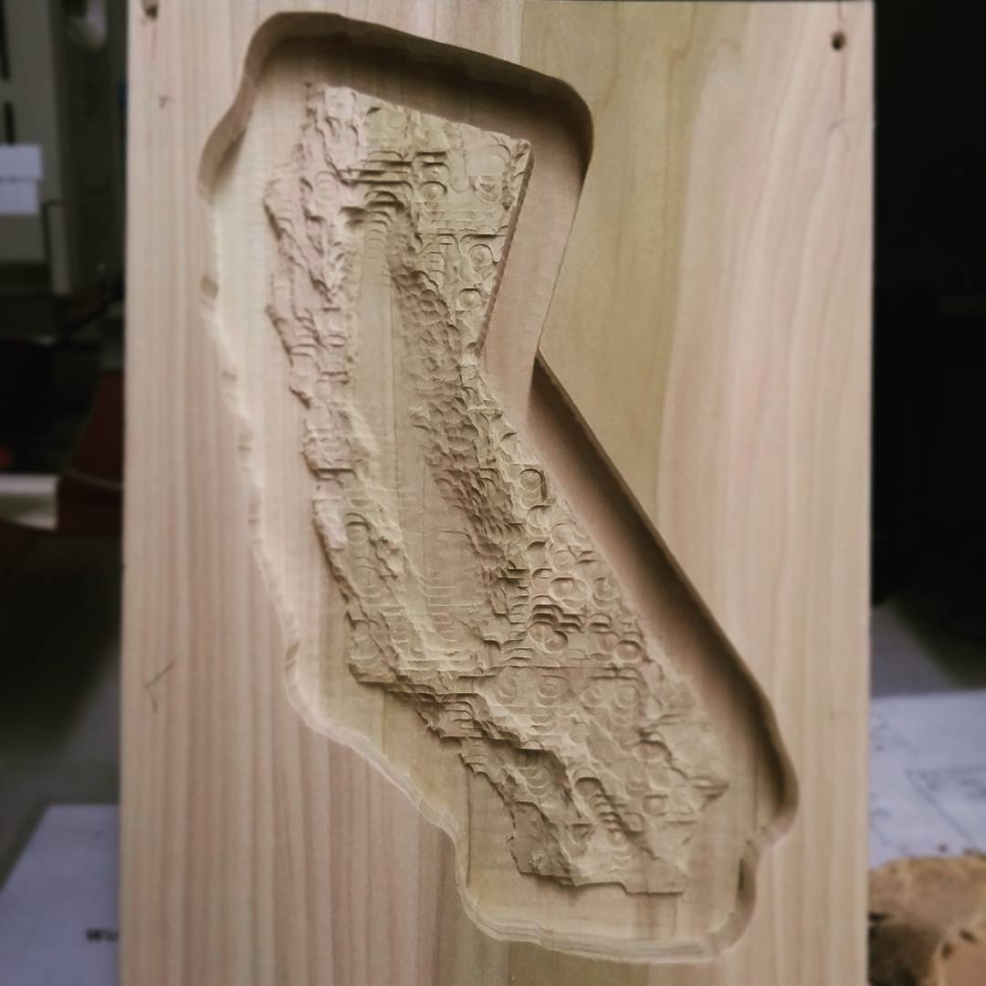 CNC Topography Gift