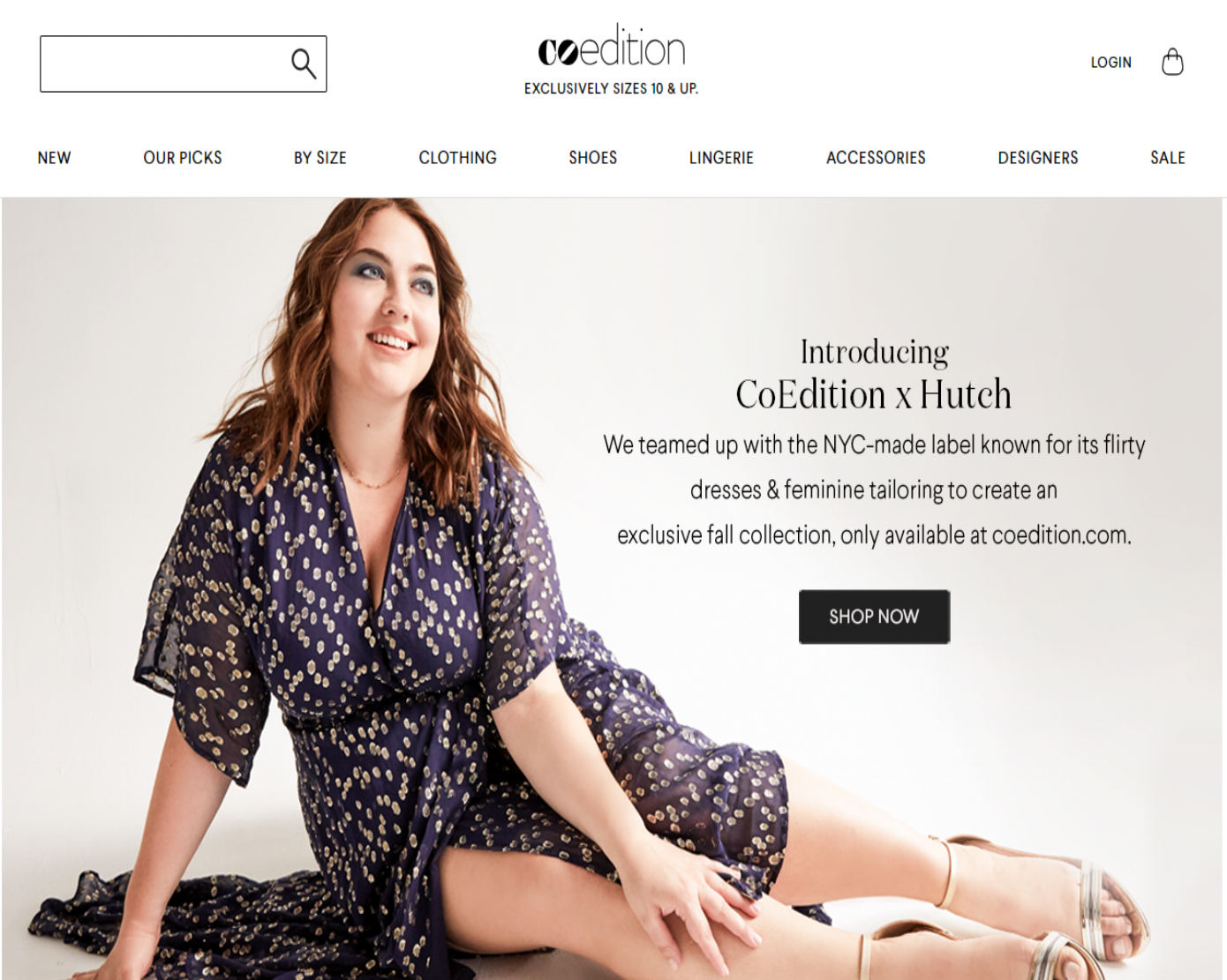 CoEdition - racked - This New Site Could Be the Shopbop of Plus-Size for all sizes 10 and up