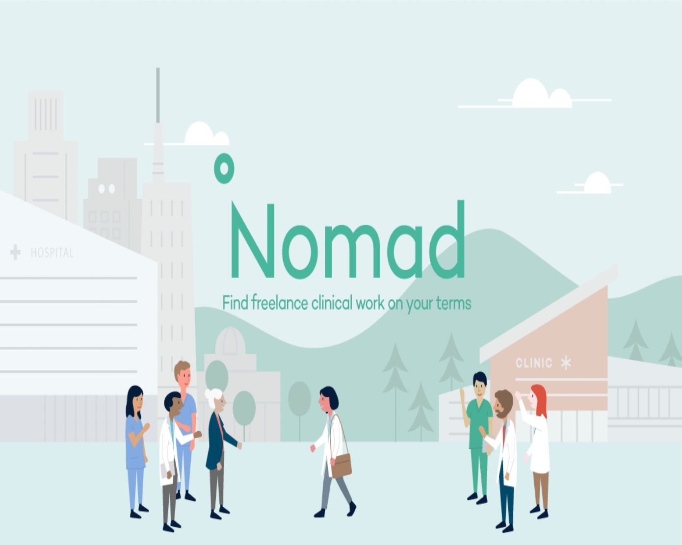 NOMAD HEALTH - BUSINESS WIRE - Expands Beyond Freelance, LaunchES FULL-TIME hEALTHCARE jOBS