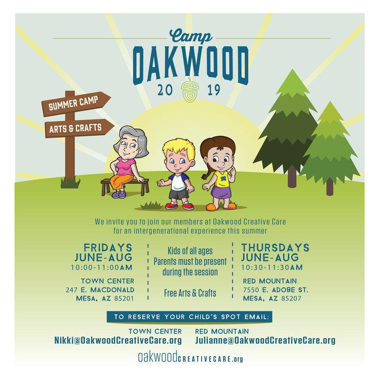 Oakwood Christmas Tour 2019 Camp Oakwood   Red Mountain — Oakwood Creative Care