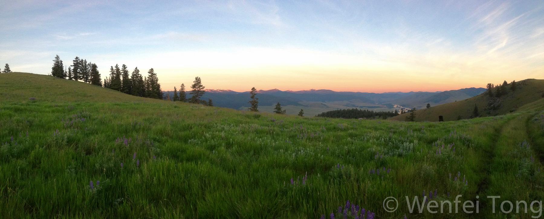 Sunrise on the Bison Range