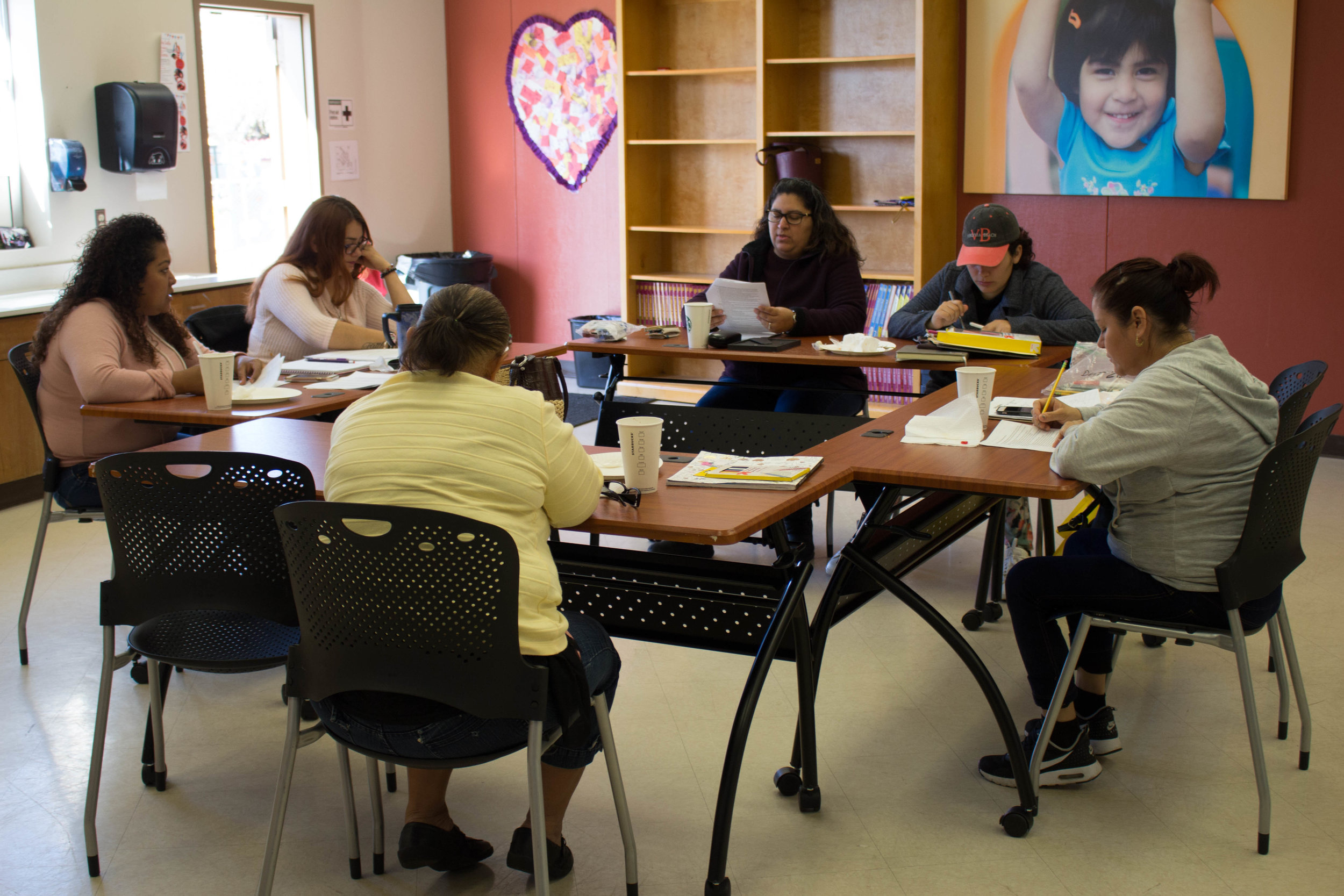 EMPUJE! - We run parent organizing committees working to achieve changes in the school system.