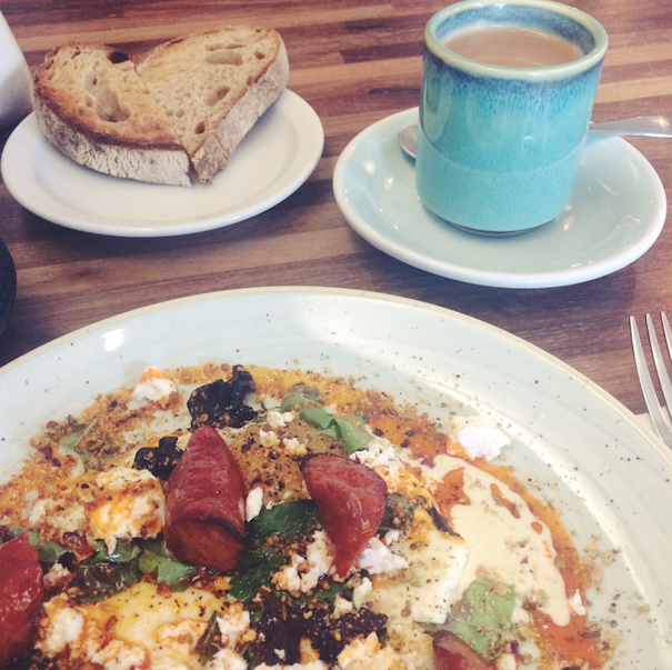 Brunch at Fia in Dublin, Ireland