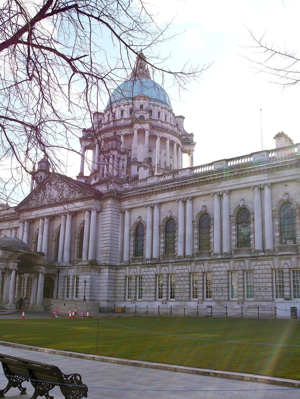 Belfast City Hall grounds