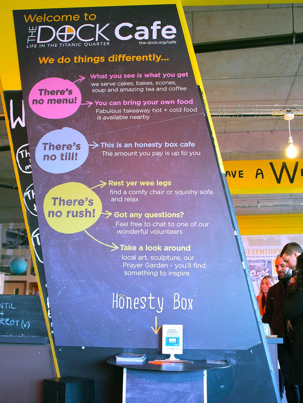 The Dock Café Honesty Box