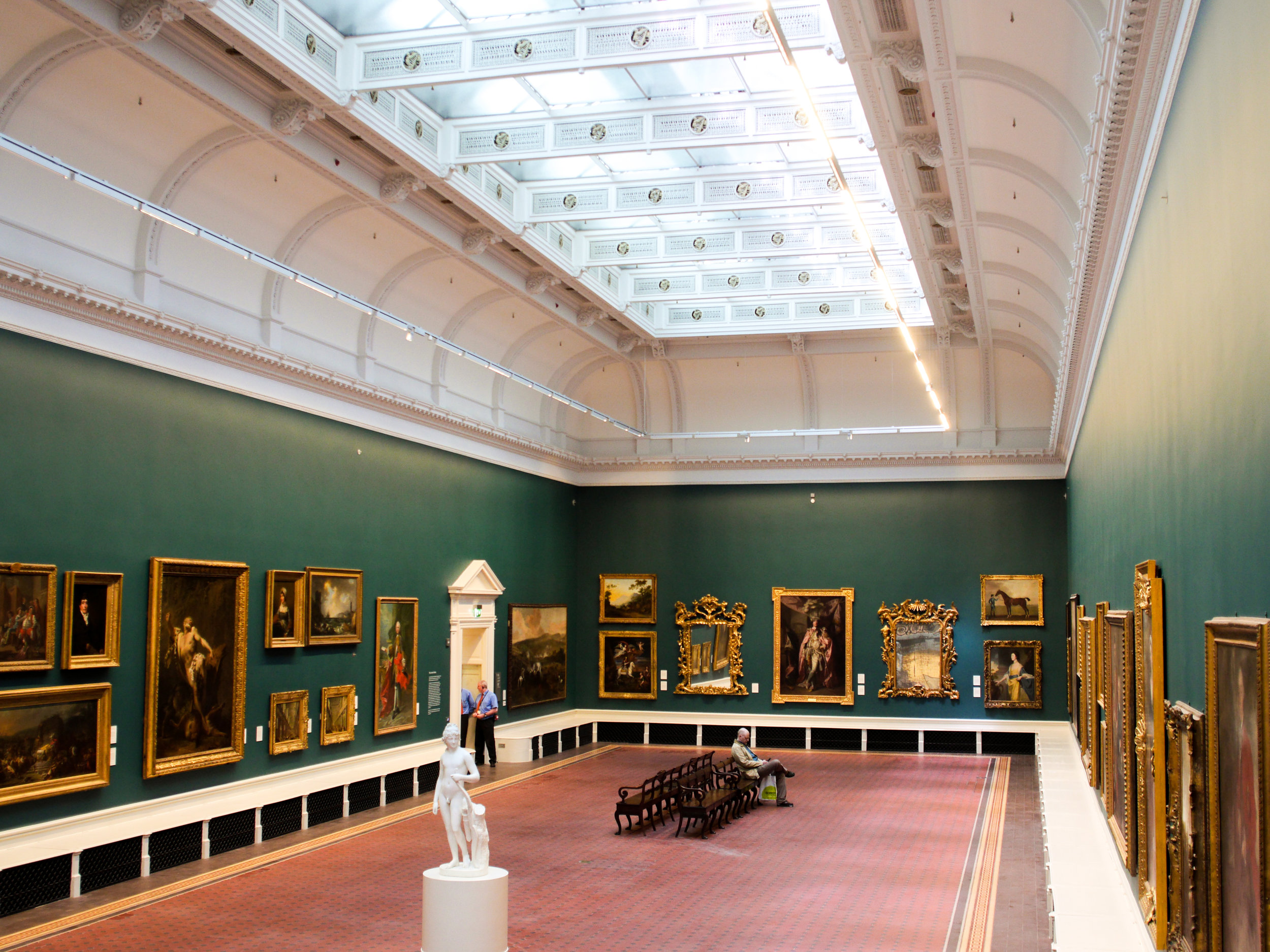 Grand Gallery room in the National Gallery of Ireland