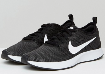 Nike Dualtone Racer Trainers In Black.png