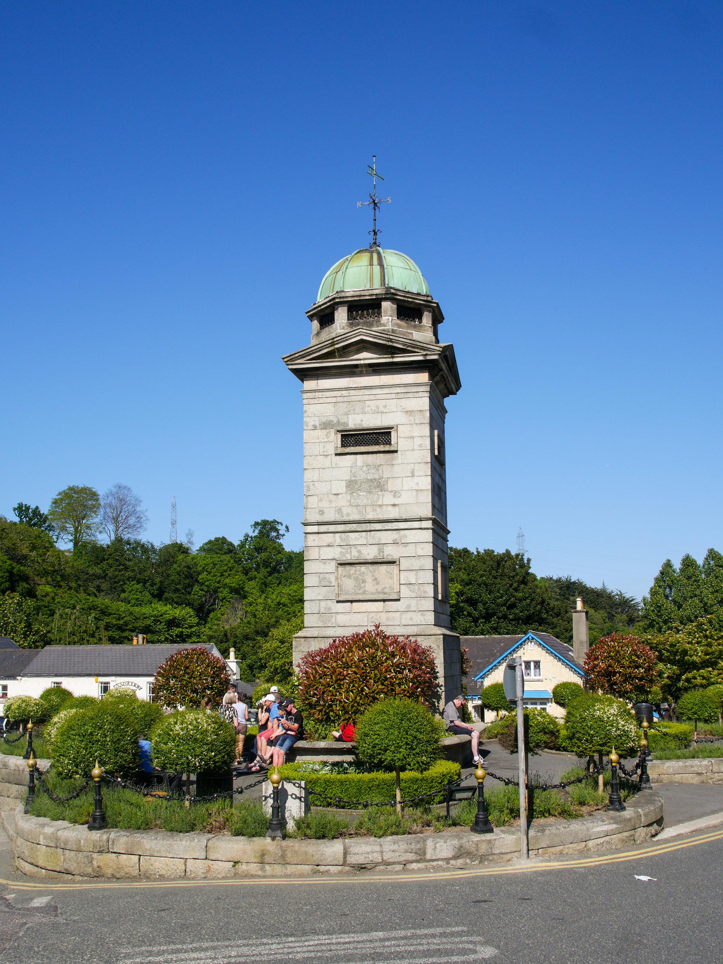 Clocktower in Enniskerry Village, Wicklow, Ireland