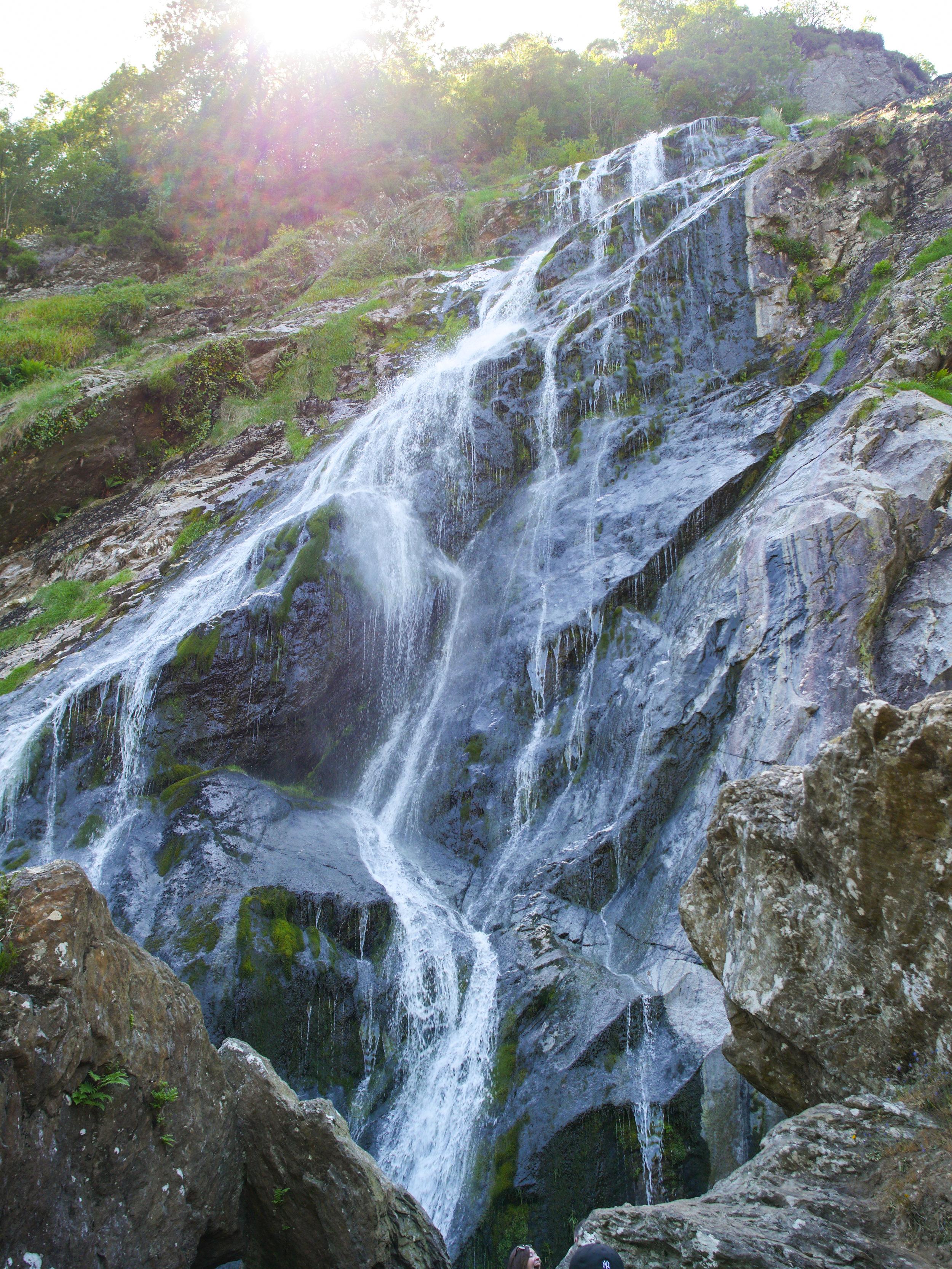 Powerscourt Waterfall in Wicklow, Ireland