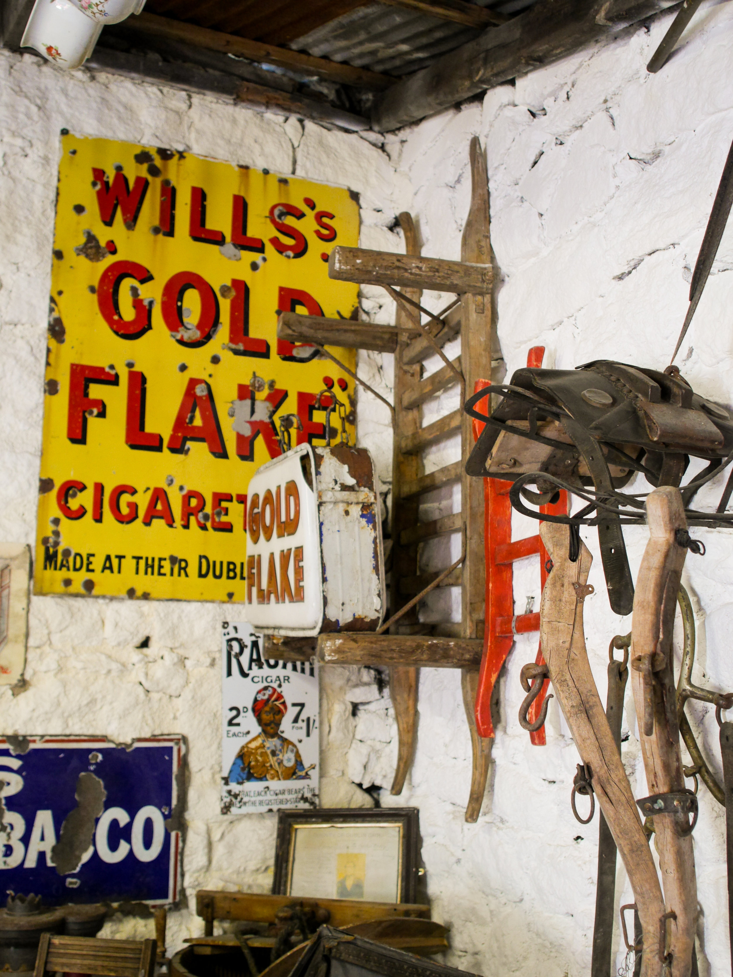 Johnnie Fox's Museum at Johnnie Fox's Pub