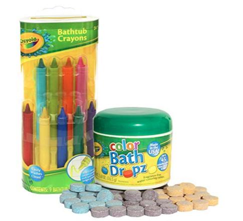 Crayola Bathtub Crayons with Crayola Color Bath Drops.png