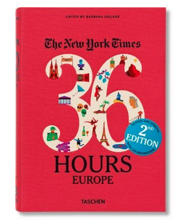 The New York Times: 36 Hours Europe, 2nd Edition.png