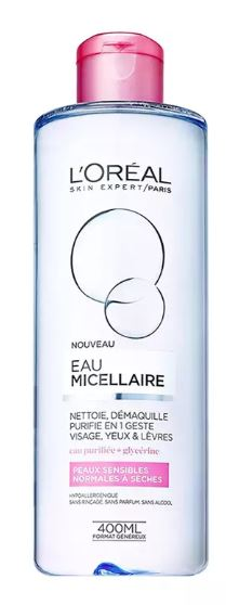 L'Oréal Paris Micellar Water Normal to Dry Skin 400ml