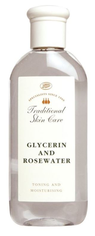 Boots Glycerin and Rosewater toner