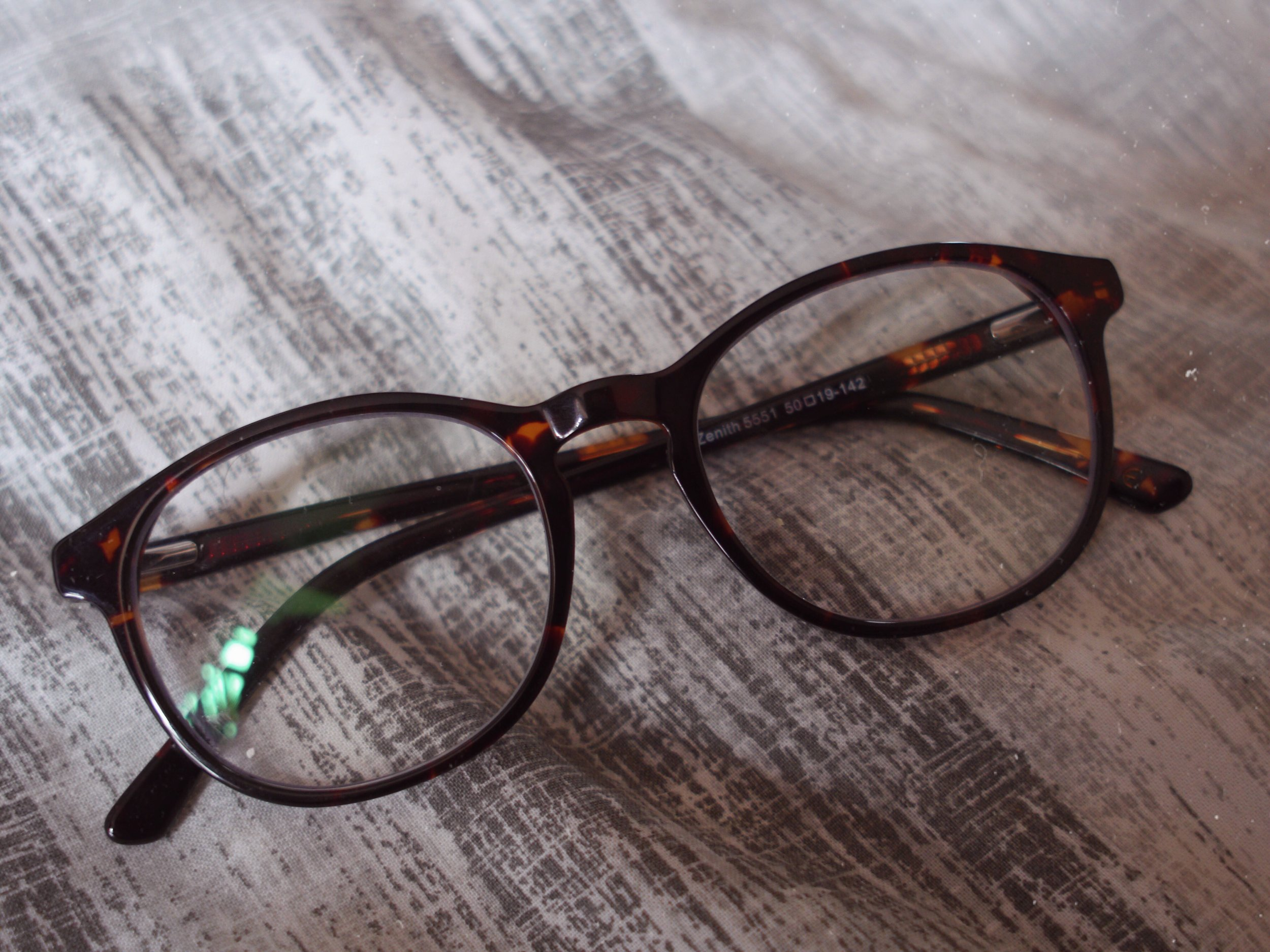 Zenith glasses in tortoise from AMBR Eyewear
