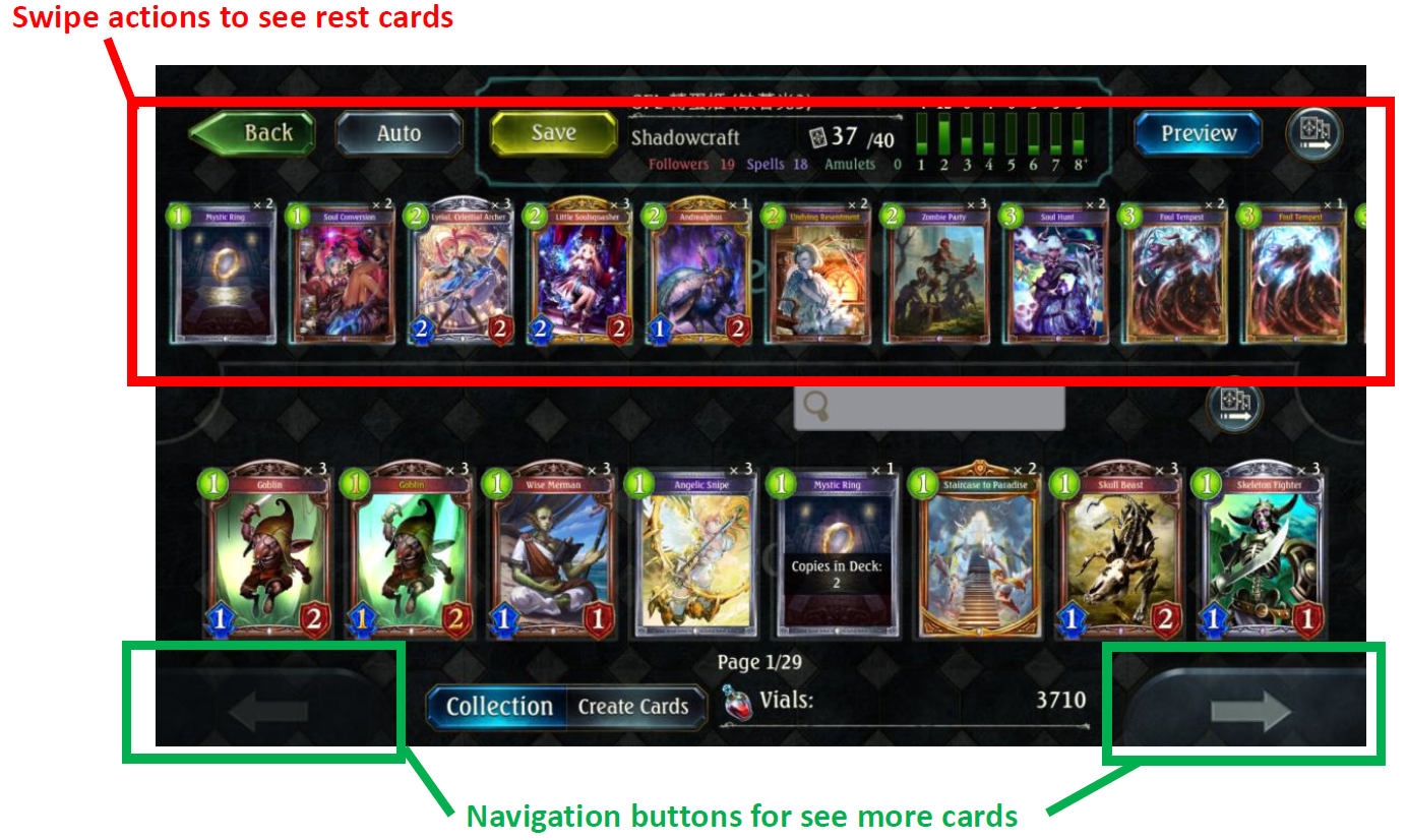 How can we improve the deck editing experience for players? -