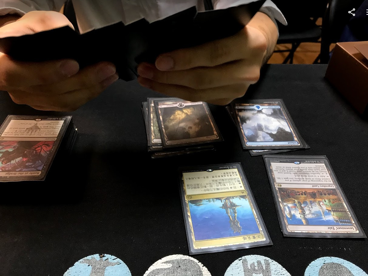 Co-Design Workshop - 30-40 minutes5 participants, who have played Shadowverse and other TCGs.I tested to see how users add or remove cards between deck area and all cards area.