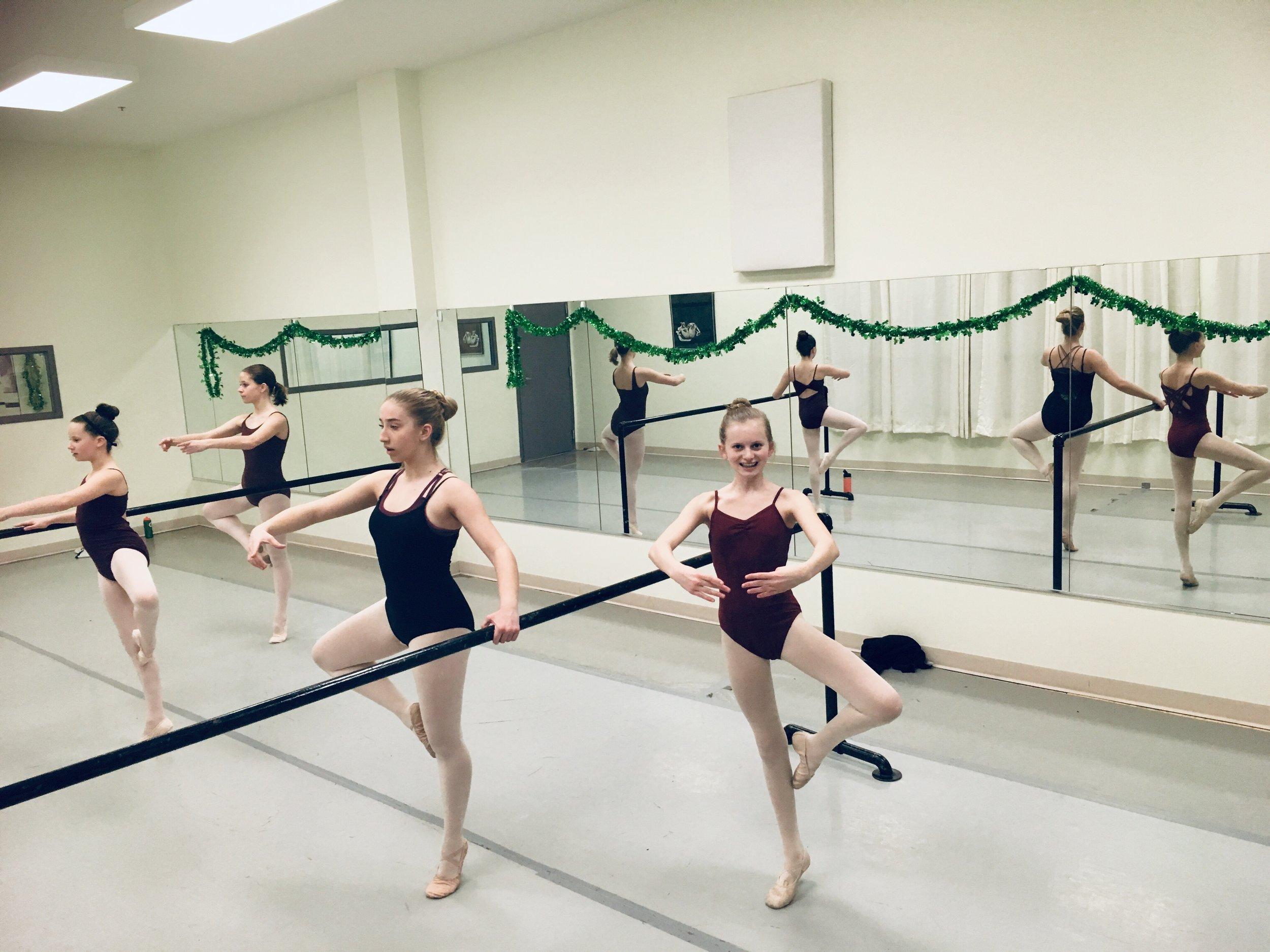 Dancers at our Sun Prairie location within the Sun Prairie Ice Arena at 838 Grove Street Sun Prairie.