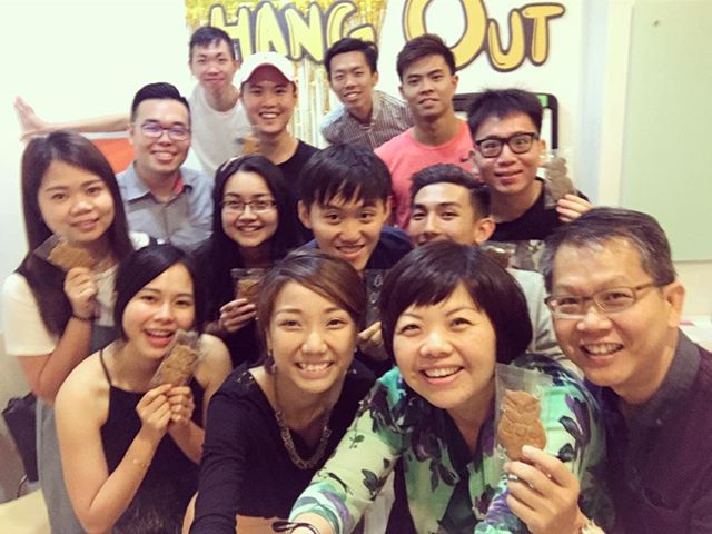 Congratulations Hang Out Leader Jia Huey! The Hang Out Group for the Youths is celebrating their one year anniversary ! Great job Jia Huey !
