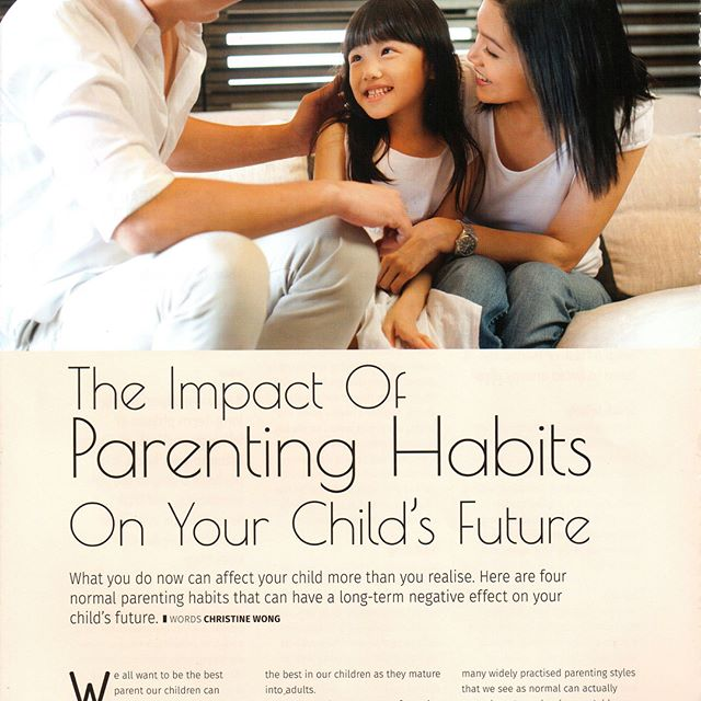 Here's another one of my articles that got picked up by a Magazine in Singapore : MOTHERHOOD- a topic that's really close to my heart.  An important read for all parents, parents to be, teachers, child care givers, tuition teachers, grandparents and everyone interested to make a difference to the children's lives.  Feel free to share this post with your friends and family! #systemoftheheart #parenthood #parents #healthyparenting #ioptasia #childhoodtrauma