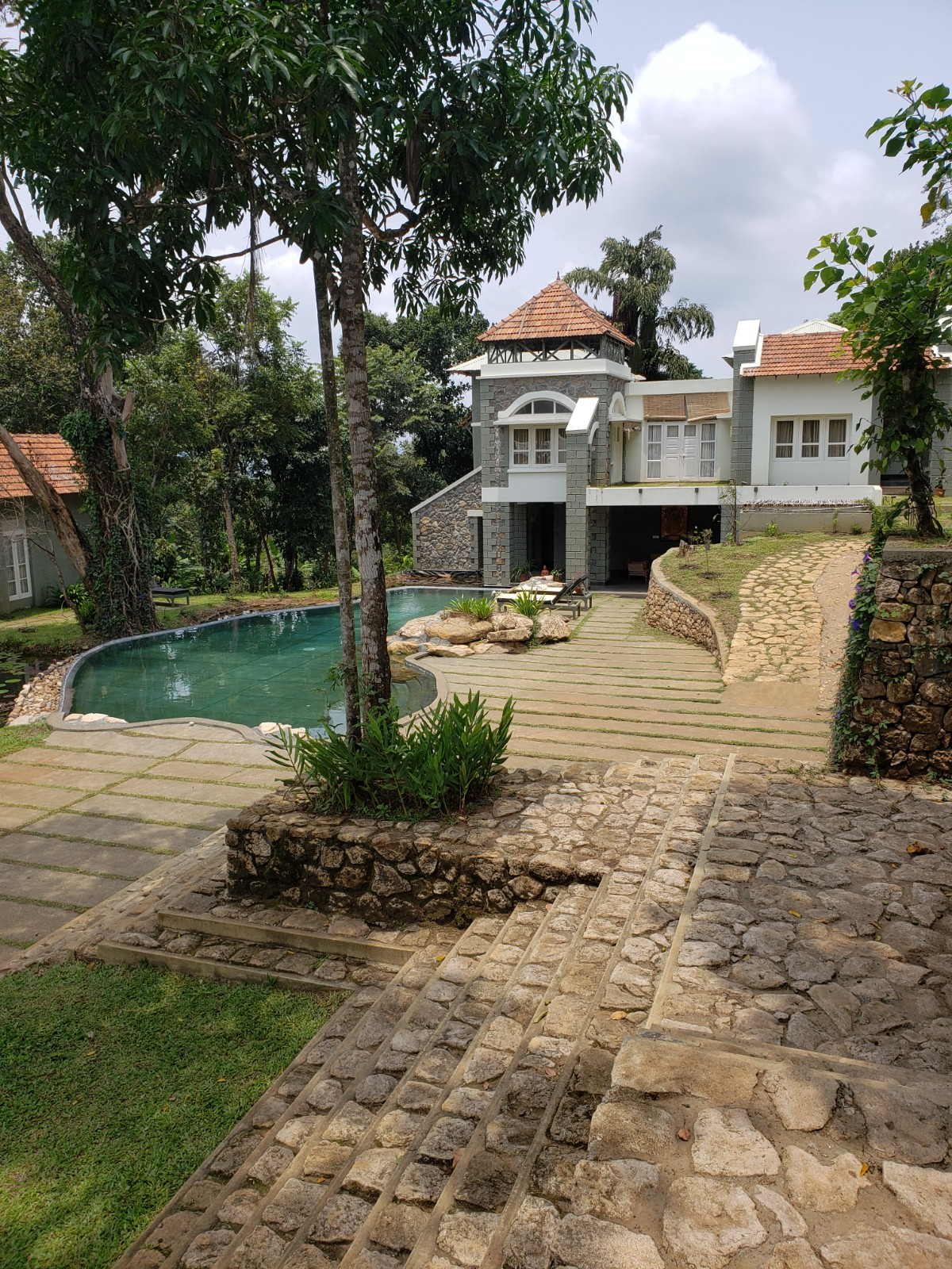 Sugati Resort. A very quiet, romantic resort. Take in mother nature and enjoy the quiet. Perfect for a yoga retreat or  to relax and really tap into your meditative side.