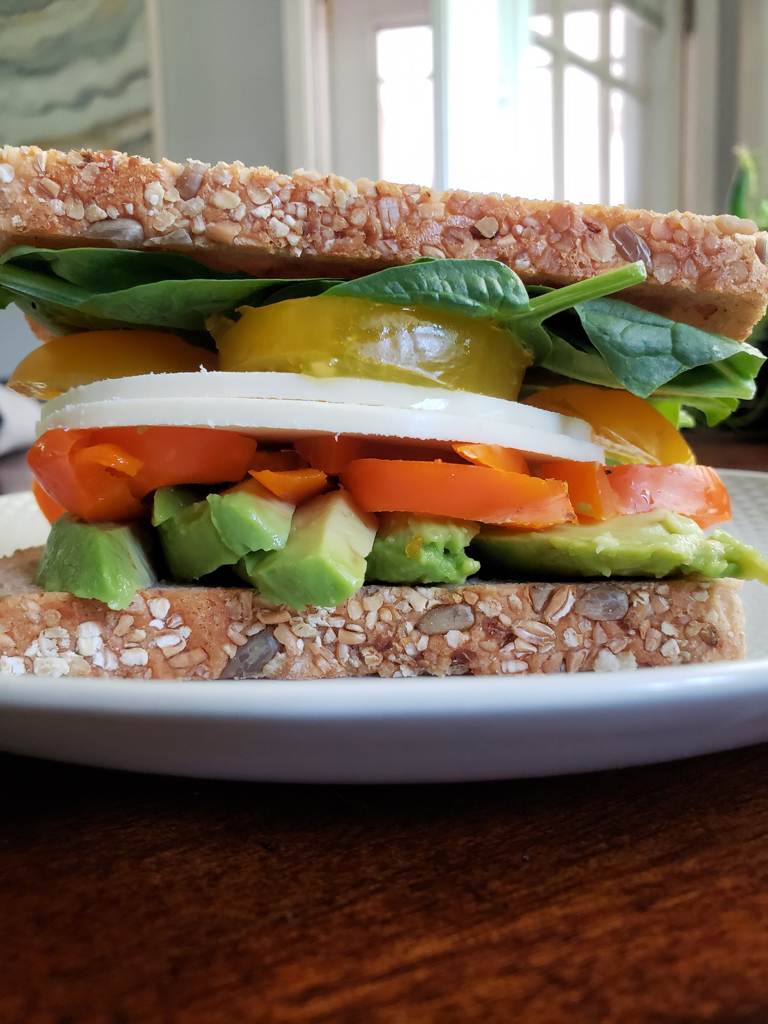 The options are endless for this sandwich and you can pack this one for lunch easily!
