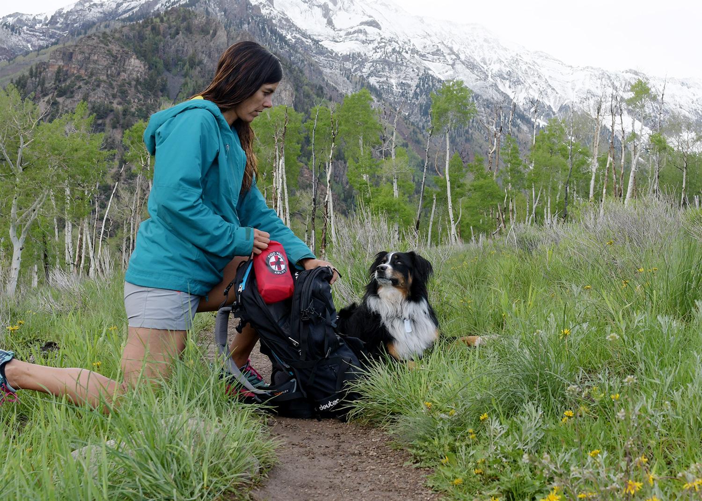 Emergency Dog Carrier for Backpacking