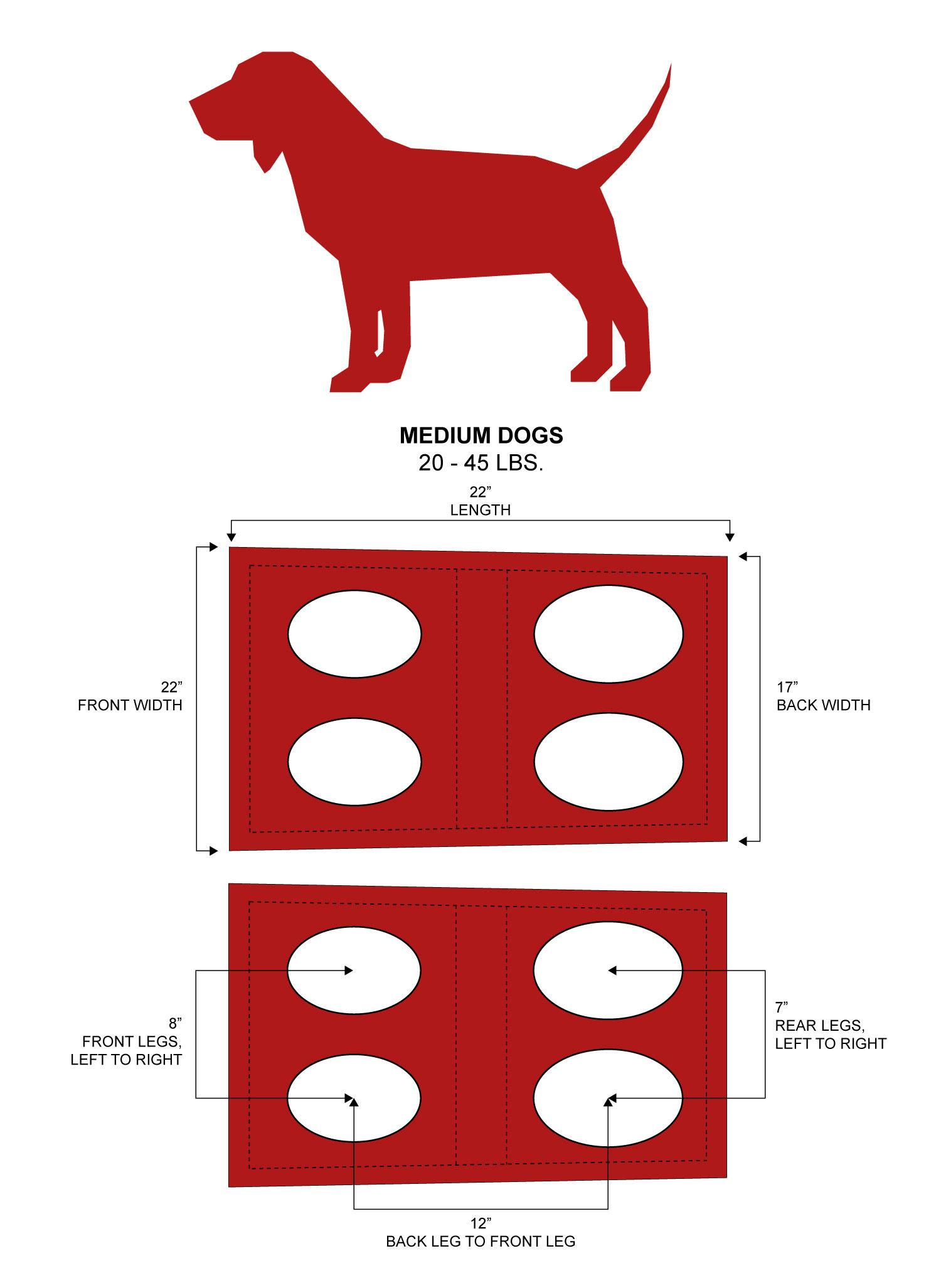 medium emergency dog carrying harness