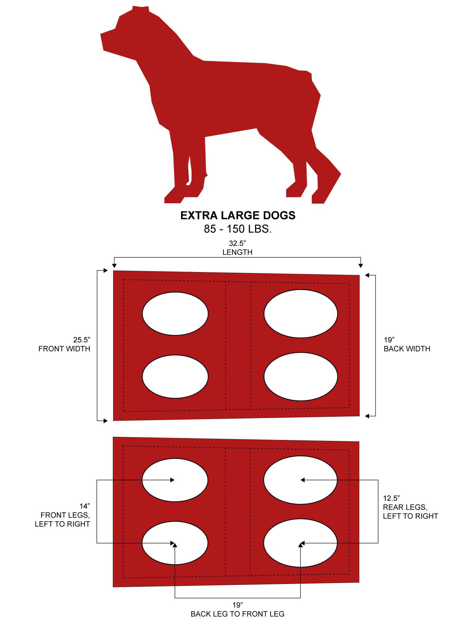 Extra-Large Emergency Dog Harness
