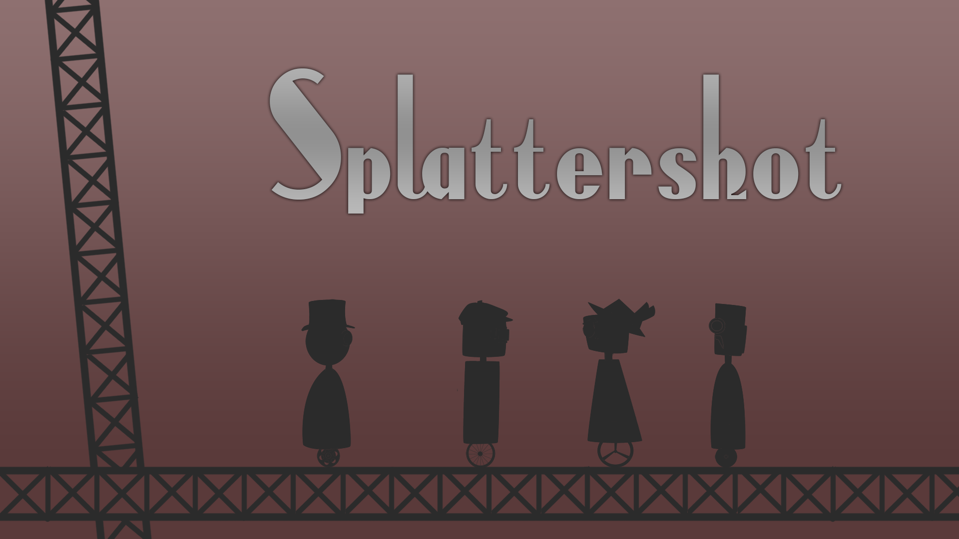Splattershot - 2d multiplayer battle-arena game