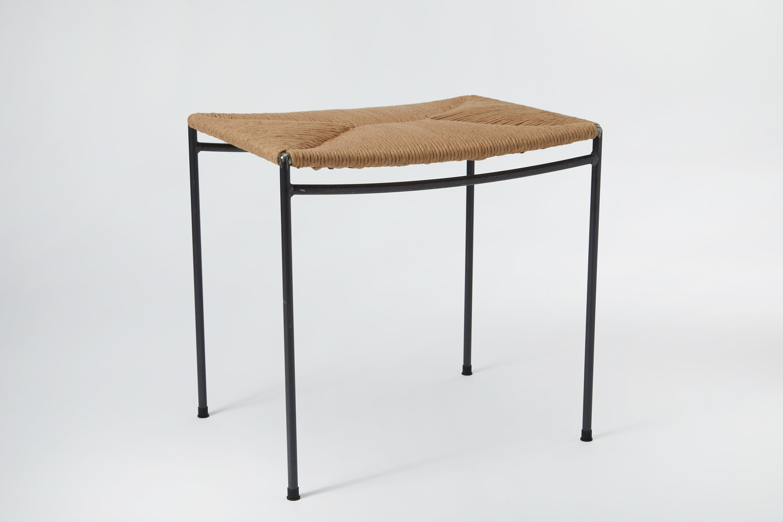 - After more than a year of searching for the perfect stool without success, David designed Untitled Rush Stool #1, and Milwood Design was born.
