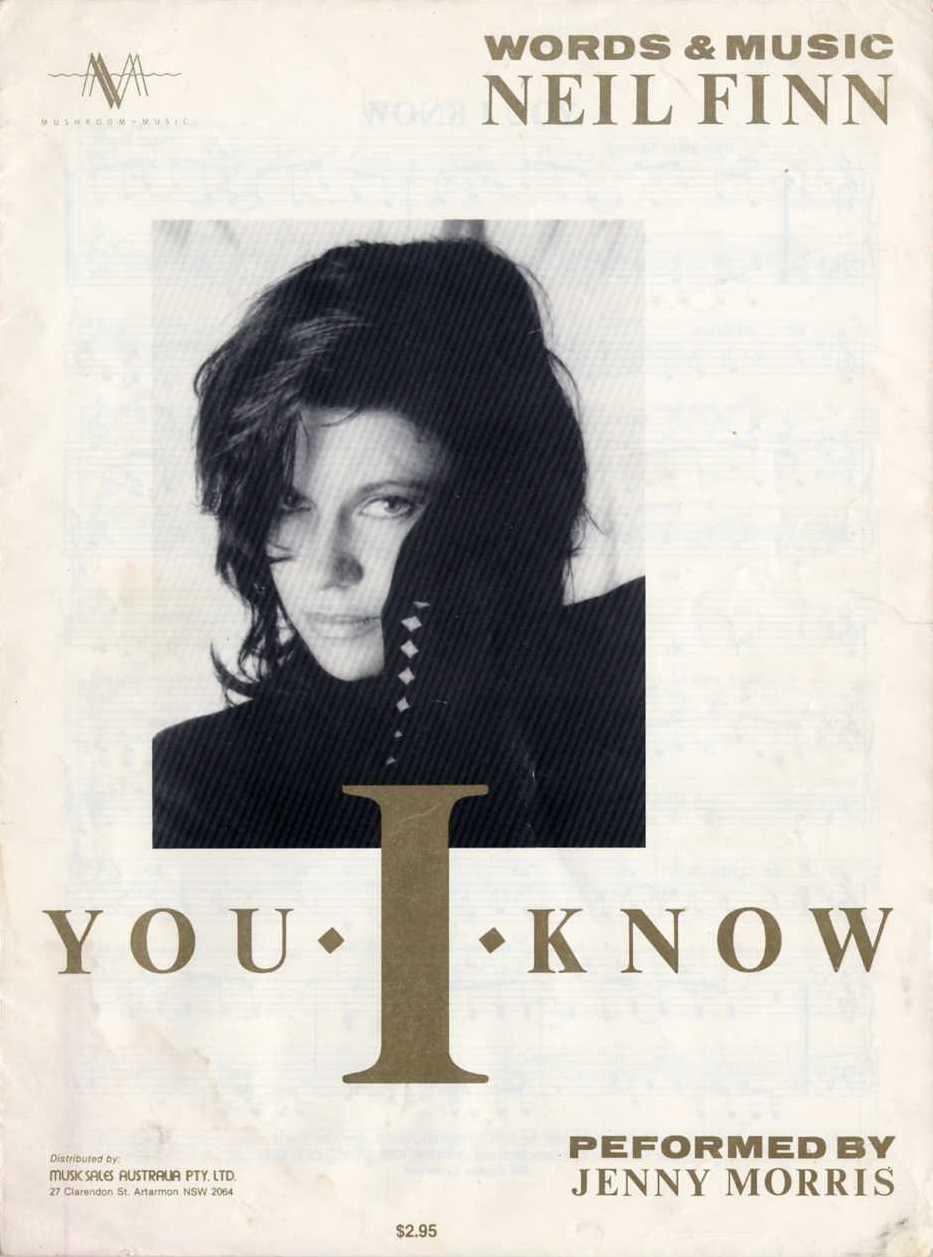 Jenny Morris - You I Know (1987)