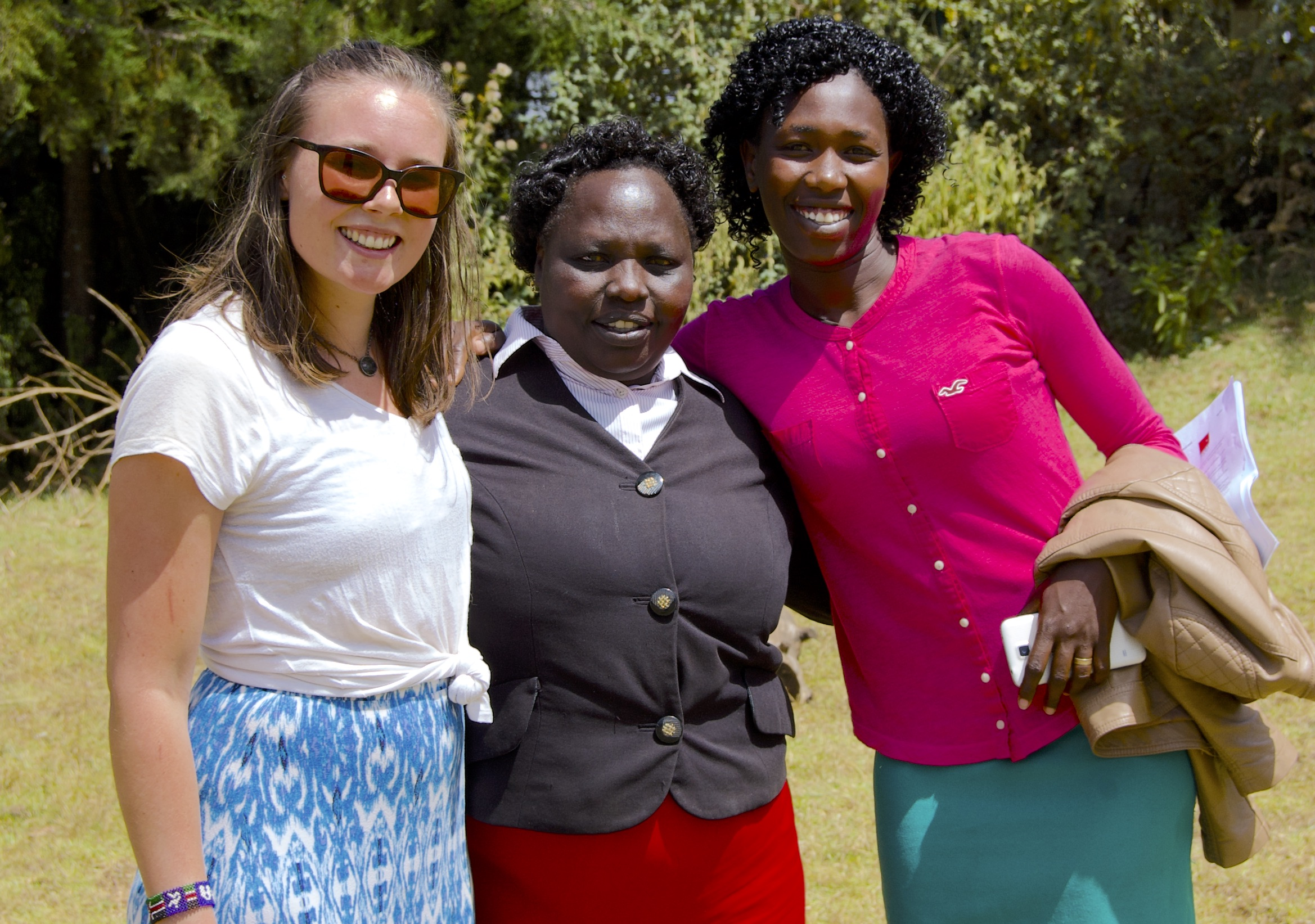 While I'll provide workshops and menstrual cup support until mid-April, it'll be up to these two women at St. Peter's Iten Secondary School to serve as cup mentors to the girls once I'm gone.