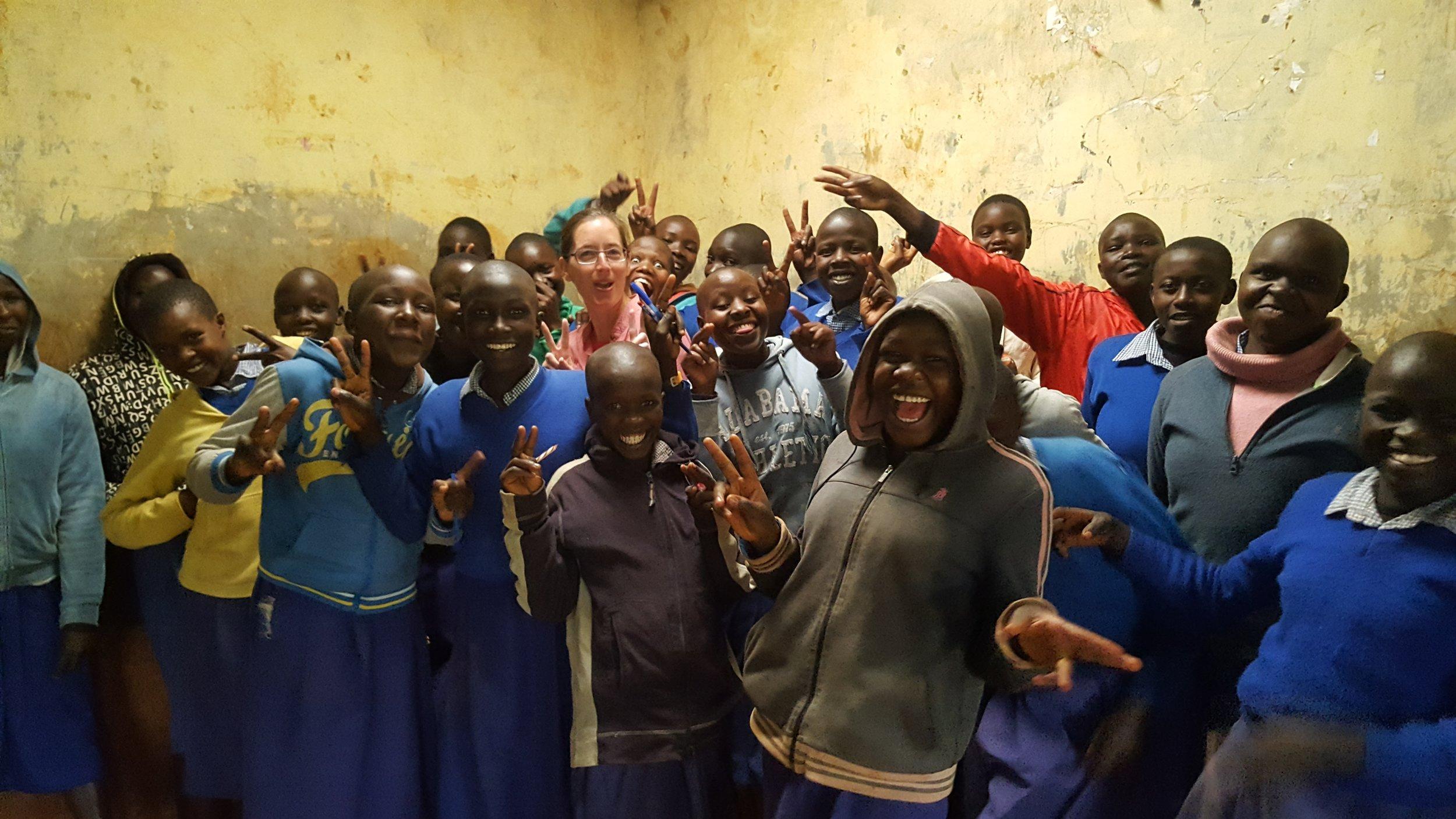 Last Day at Kamariny Primary School!