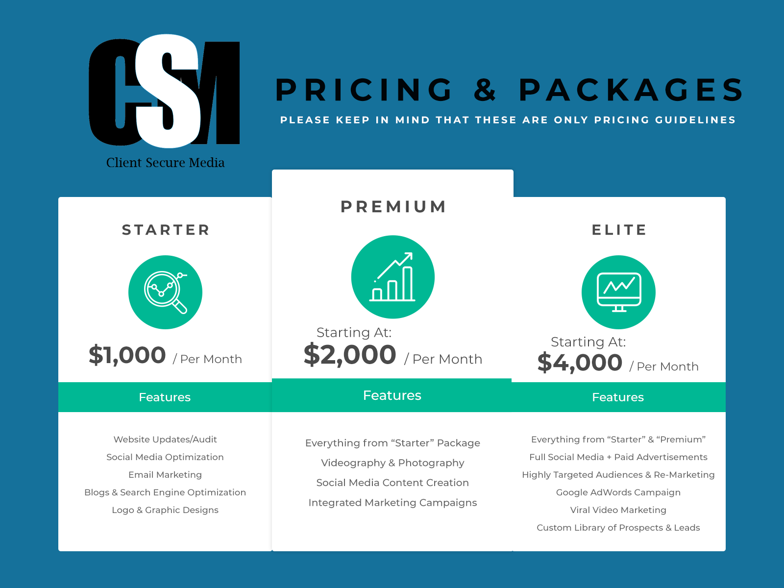 Pricing & Packages - Client Secure Media.png